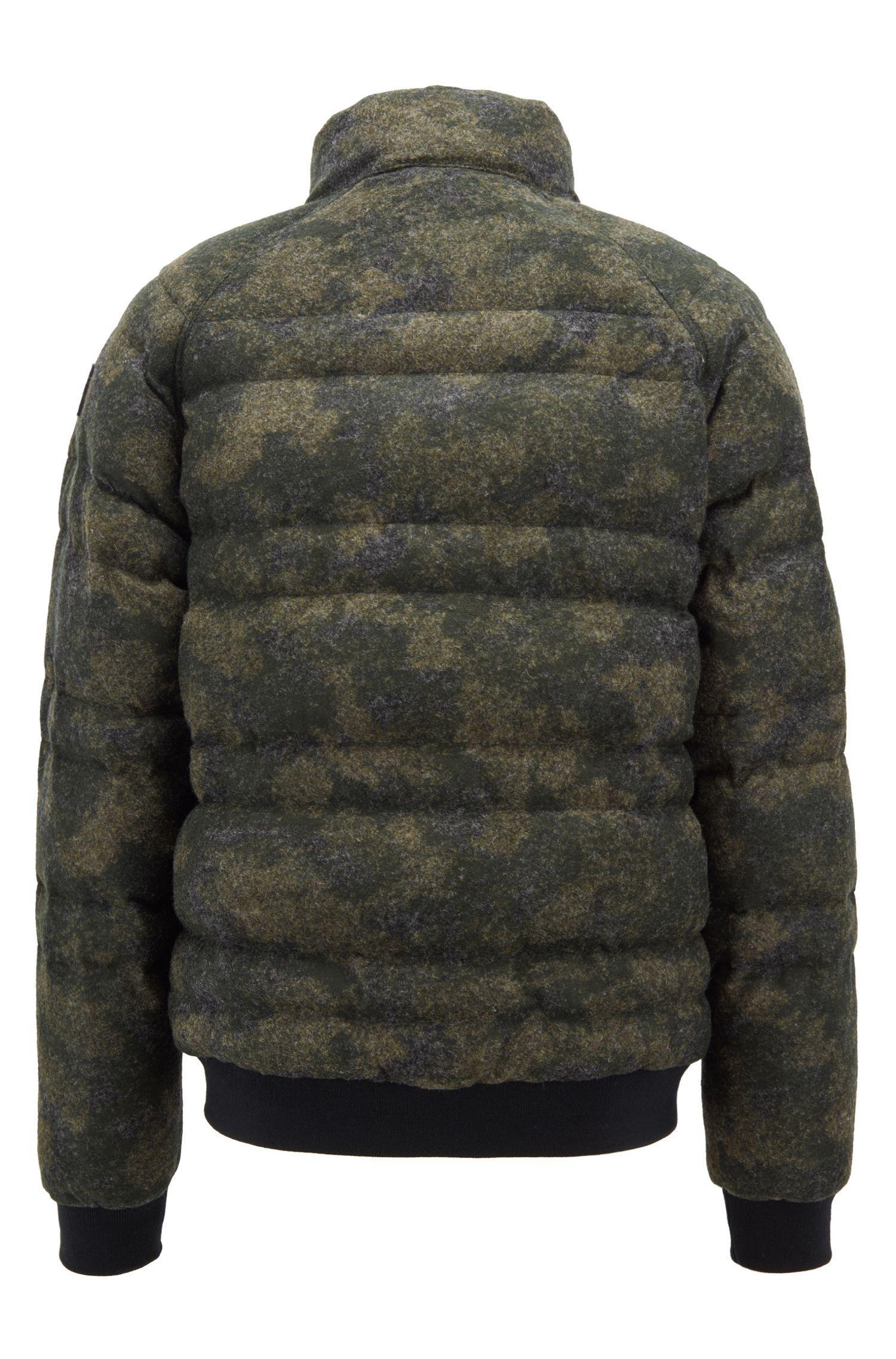 hugo boss camo jacket