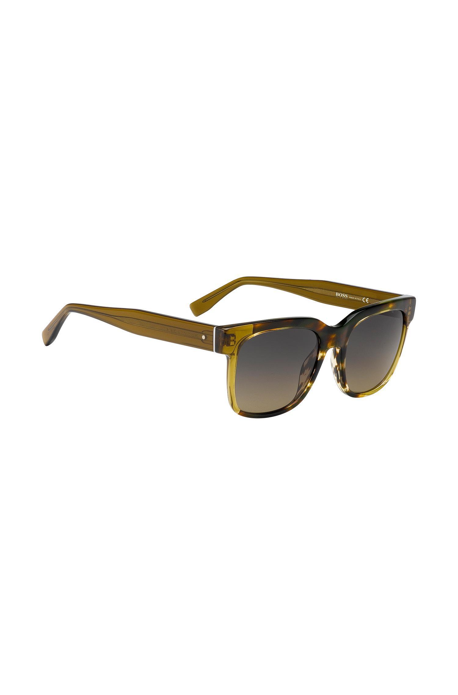 79c1b38374 Lyst - Boss Gradient Lens Acetate Sunglasses