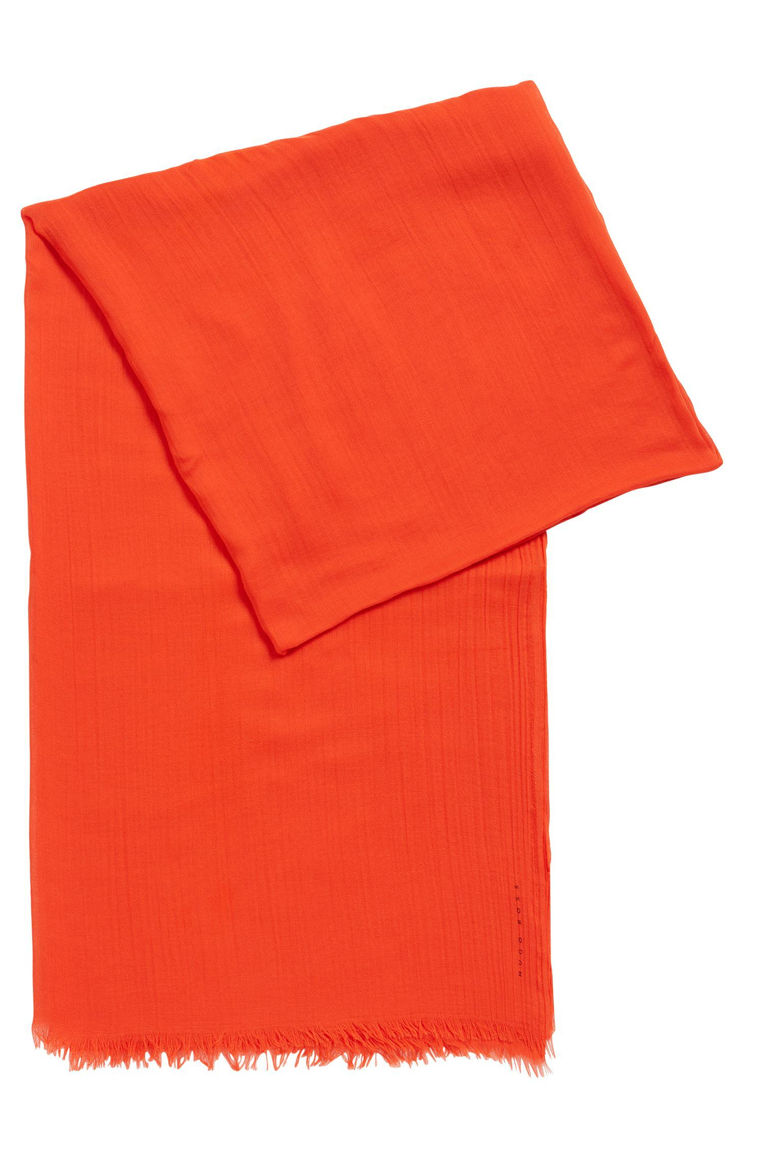Boss Lightweight Scarf In Tonal Modal in Red - Lyst 47a5cd86a84