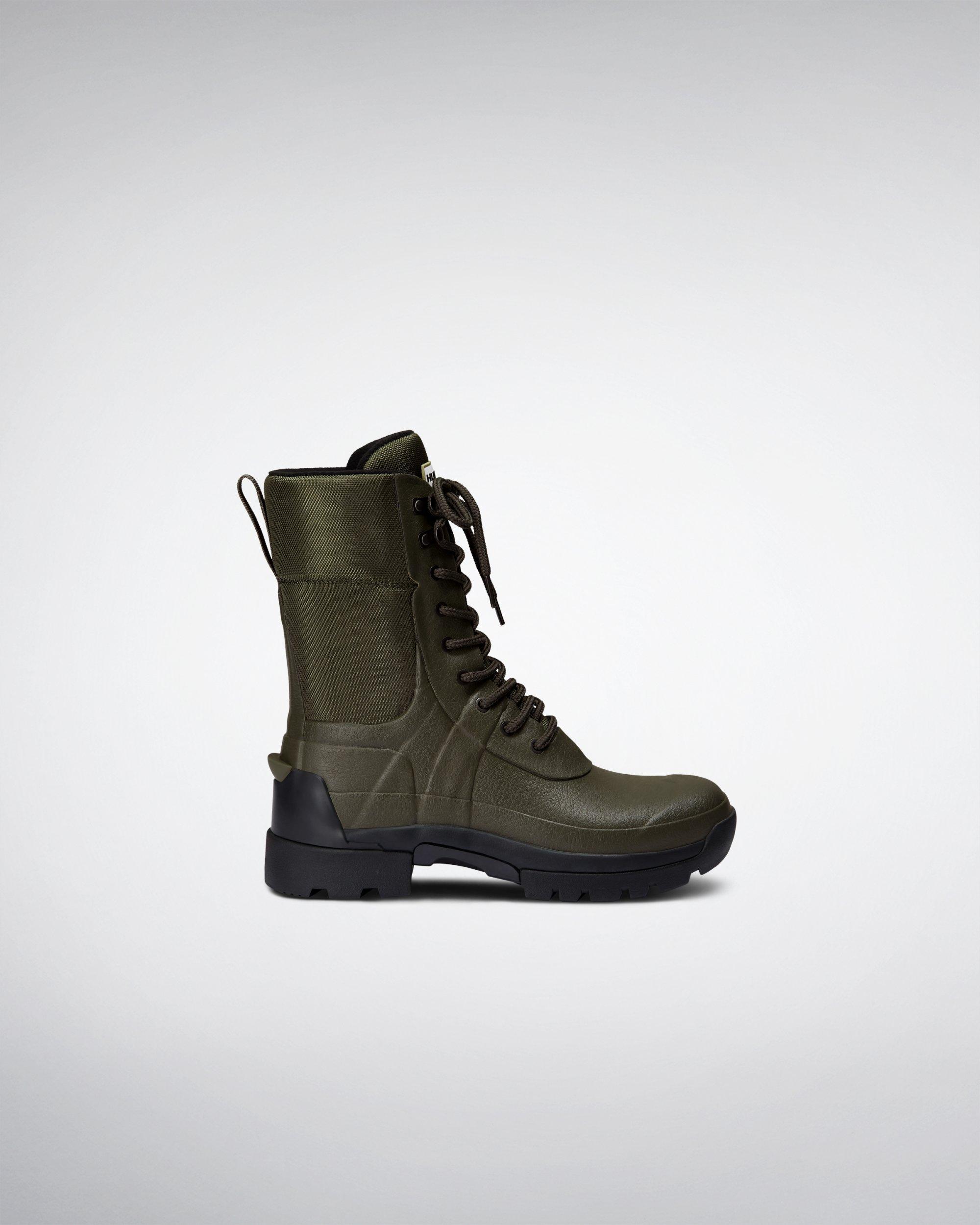 f744883fea5 Men's Green Balmoral Combat Boot