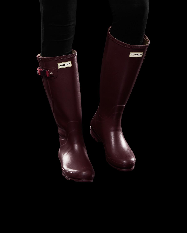 b777d851d62 Hunter Red Women's Norris Field Side Adjustable Wellington Boots