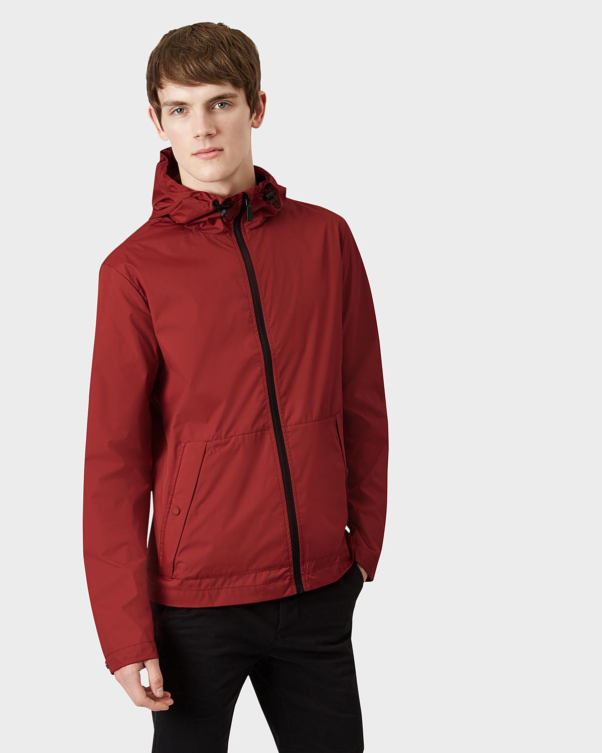 HUNTER Synthetic Men's Original Packable Jacket in Red for Men