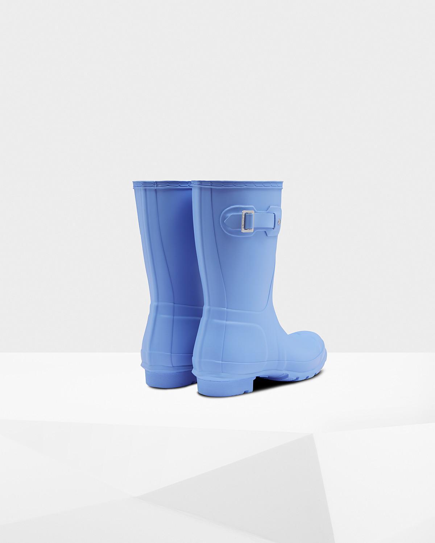 Original Short Rain Boots in Vivid Blue