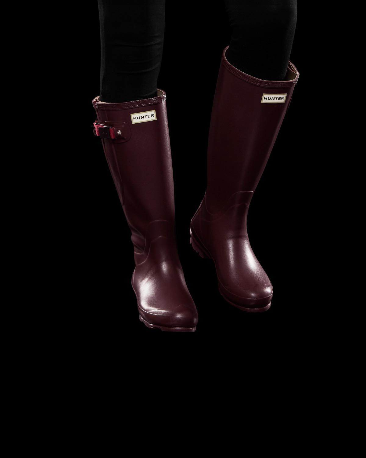 c3a12a26099 Hunter Red Women's Norris Field Side Adjustable Wellington Boots