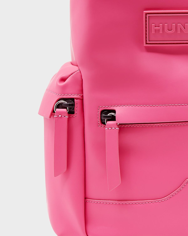 HUNTER Original Mini Top Clip Backpack - Rubberized Leather