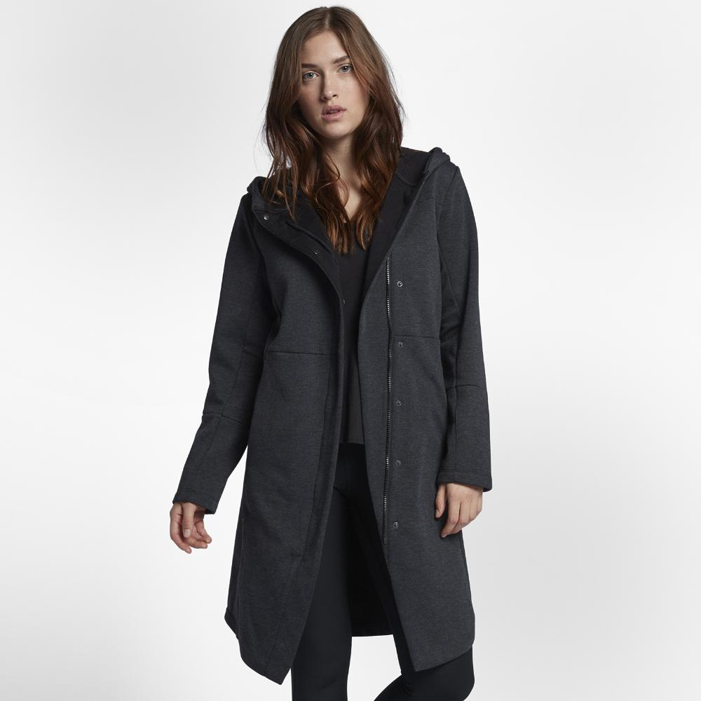 16cccd25133e Lyst - Hurley Therma Winchester Trench Fleece Jacket in Black