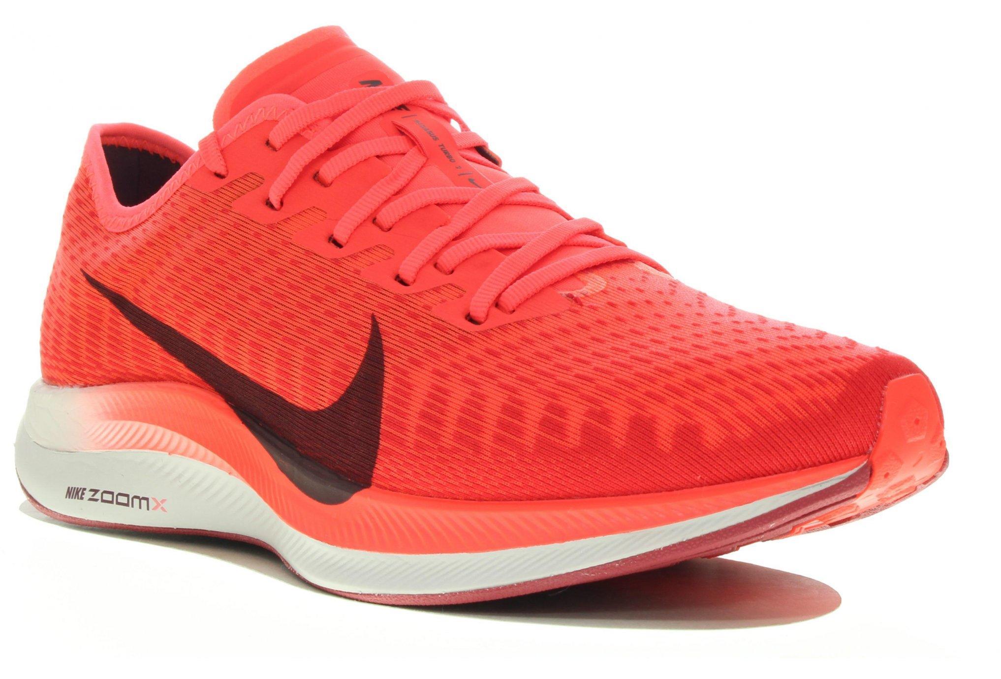 Zoom Pegasus Turbo 2 Zapatillas de running Nike de Tejido sintético de color Rojo para hombre