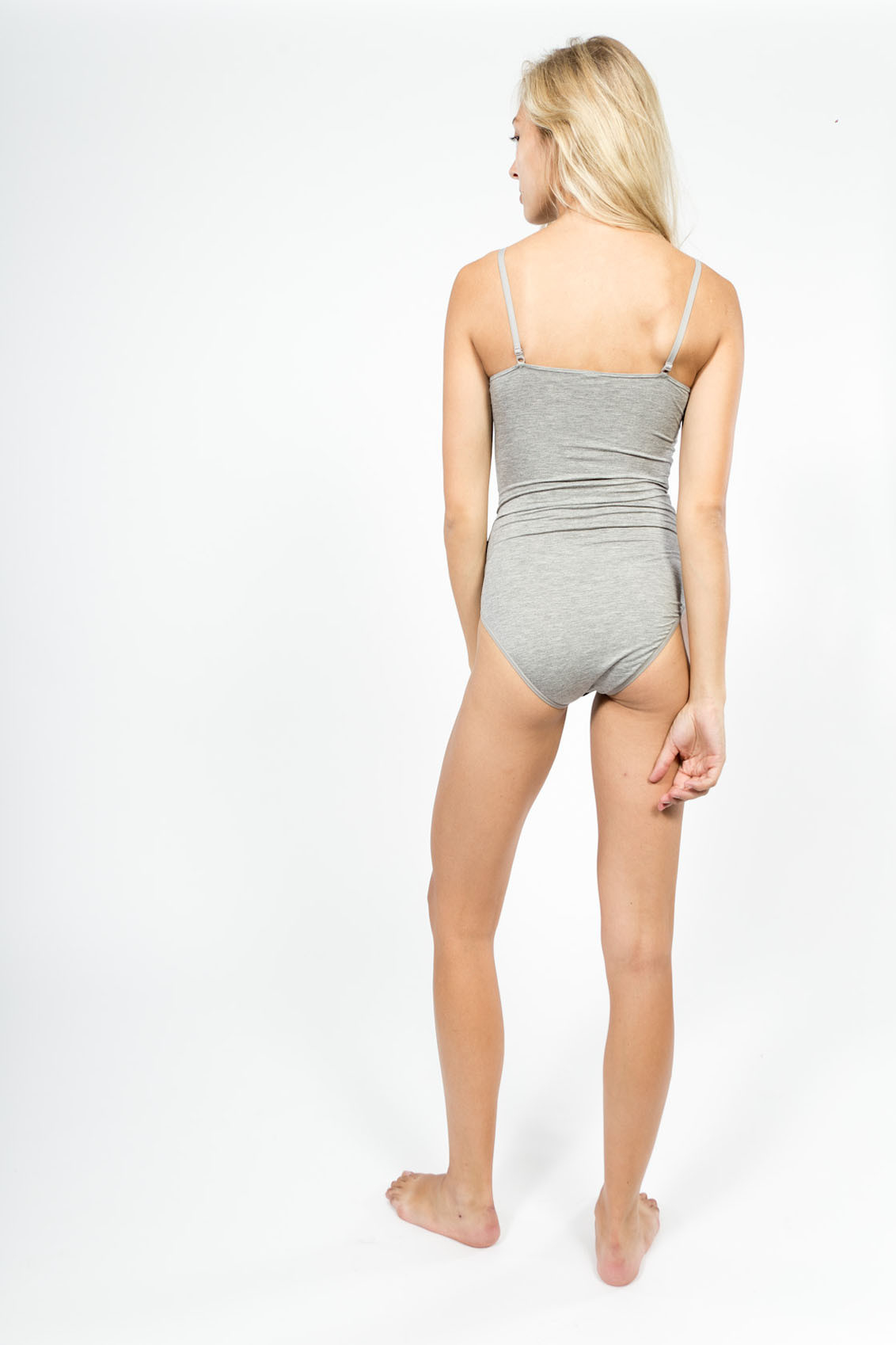 Baserange Body W/ Bra in Gray