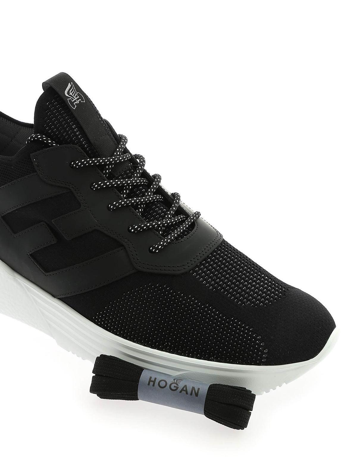 Hogan H443 Sneakers In Black for Men - Lyst