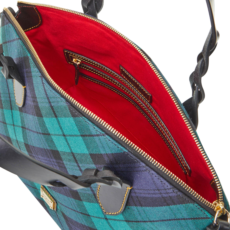 Dooney /& Bourke Blakely Tartan Marlee Crossbody Shoulder Bag
