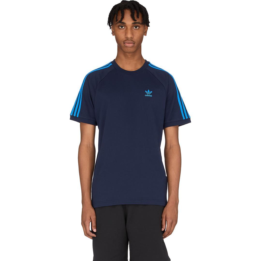 Adidas Mens Standard Mh 3-Stripes Tee
