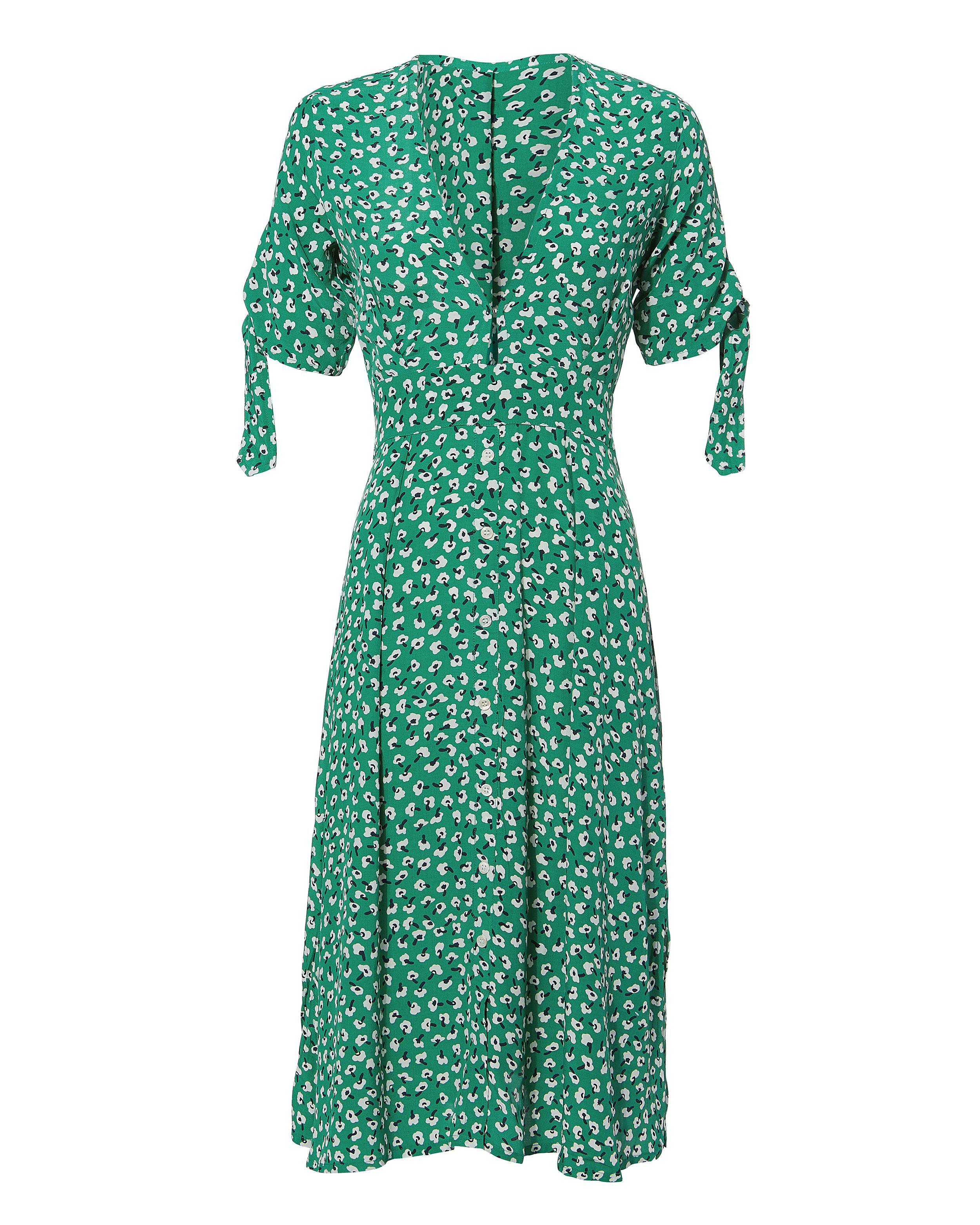 low priced buying cheap big discount Faithfull The Brand Nina Midi Dress in Green - Lyst