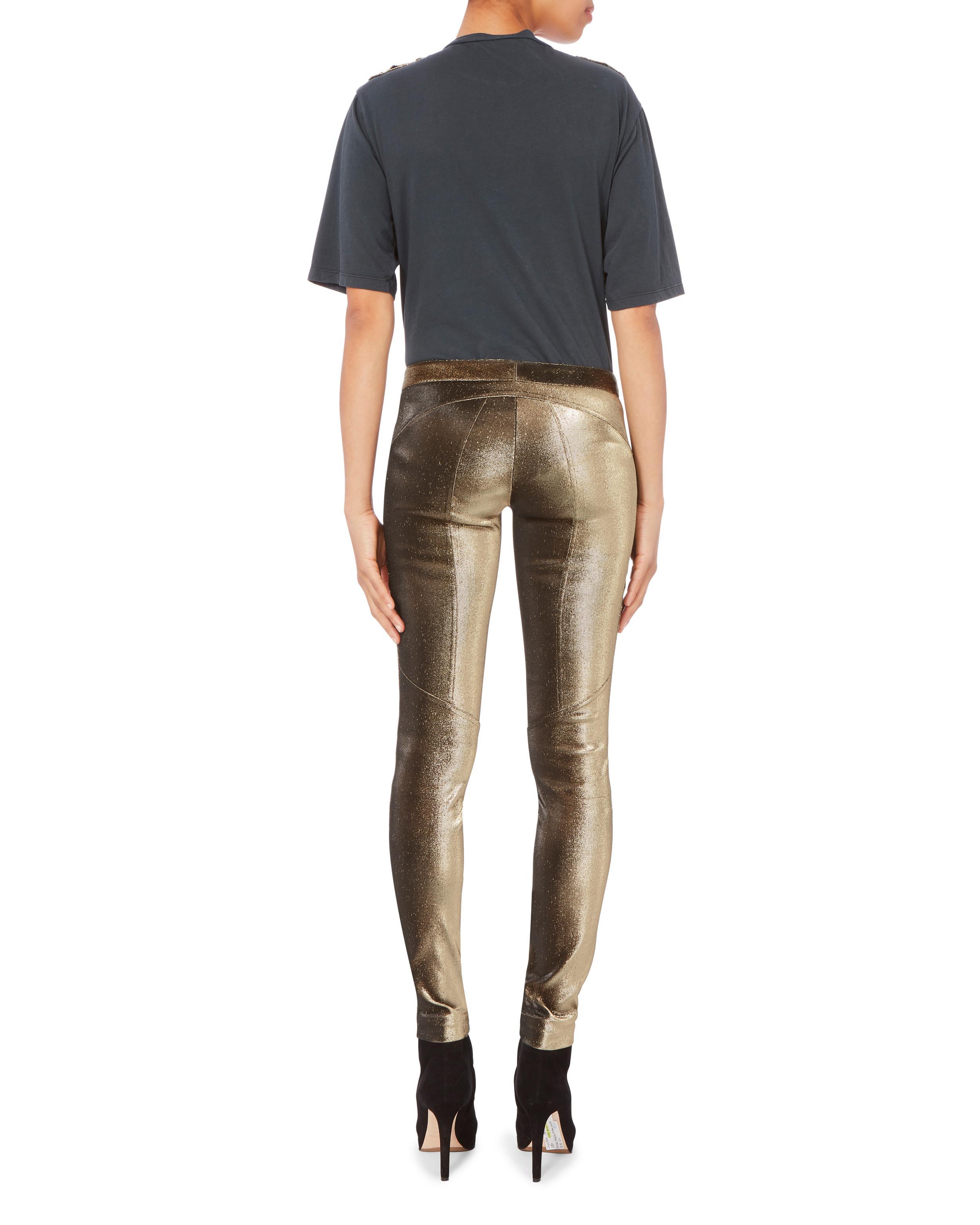 Pantalon De Piste Métalliques Barbara Bui WWjcw