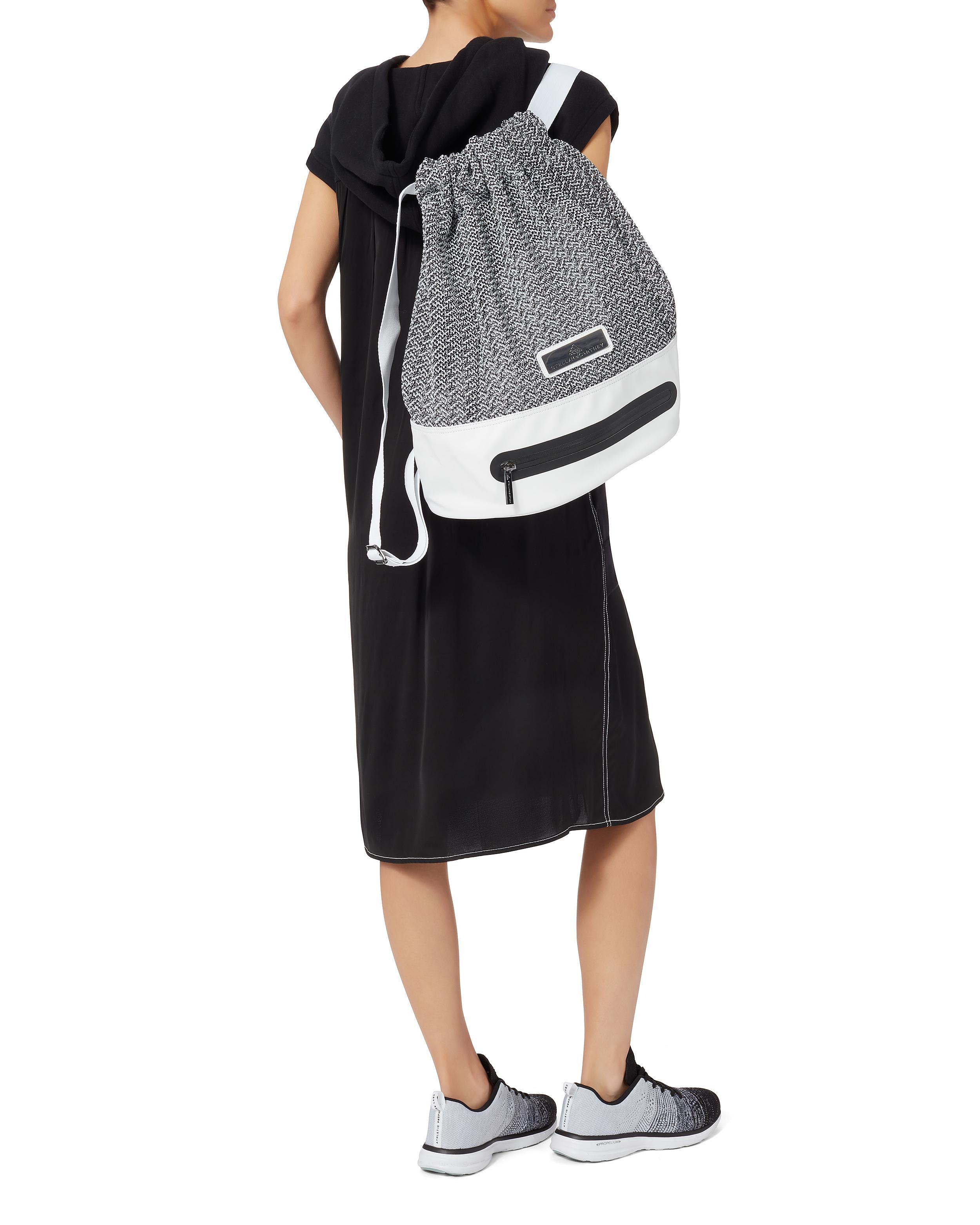 1ff2baf4bbf Adidas By Stella McCartney White Knit Backpack