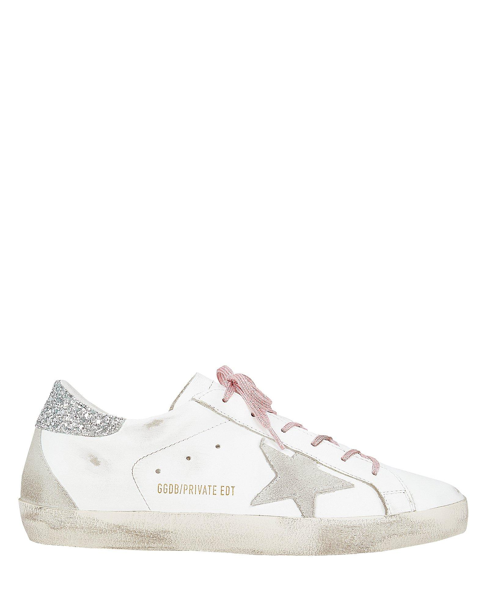 golden goose pink laces