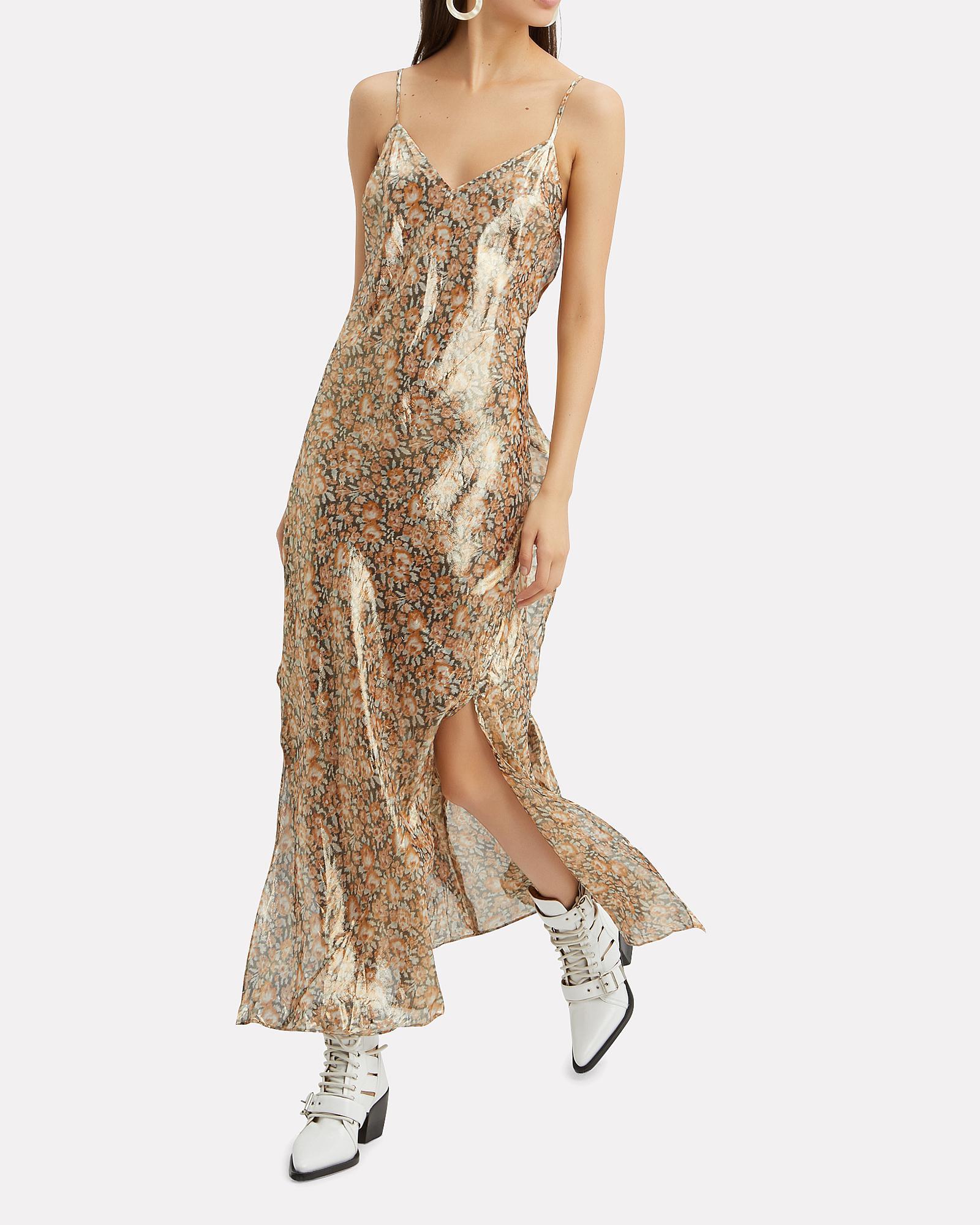 9eb11a64e0c4 LoveShackFancy Kate Ruffle Slip Dress - Lyst