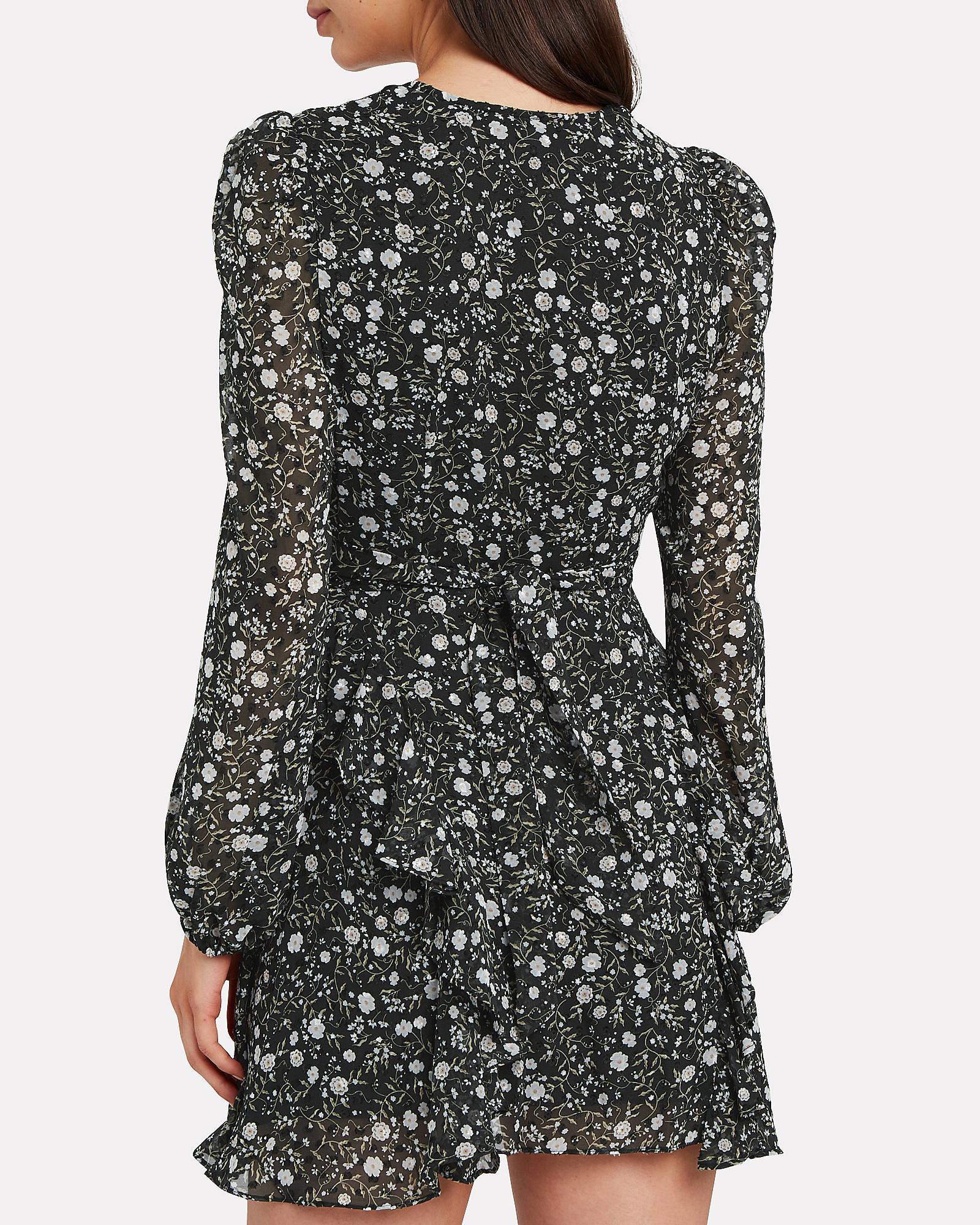 Shona Joy Jarrett Tie Front Mini Dress