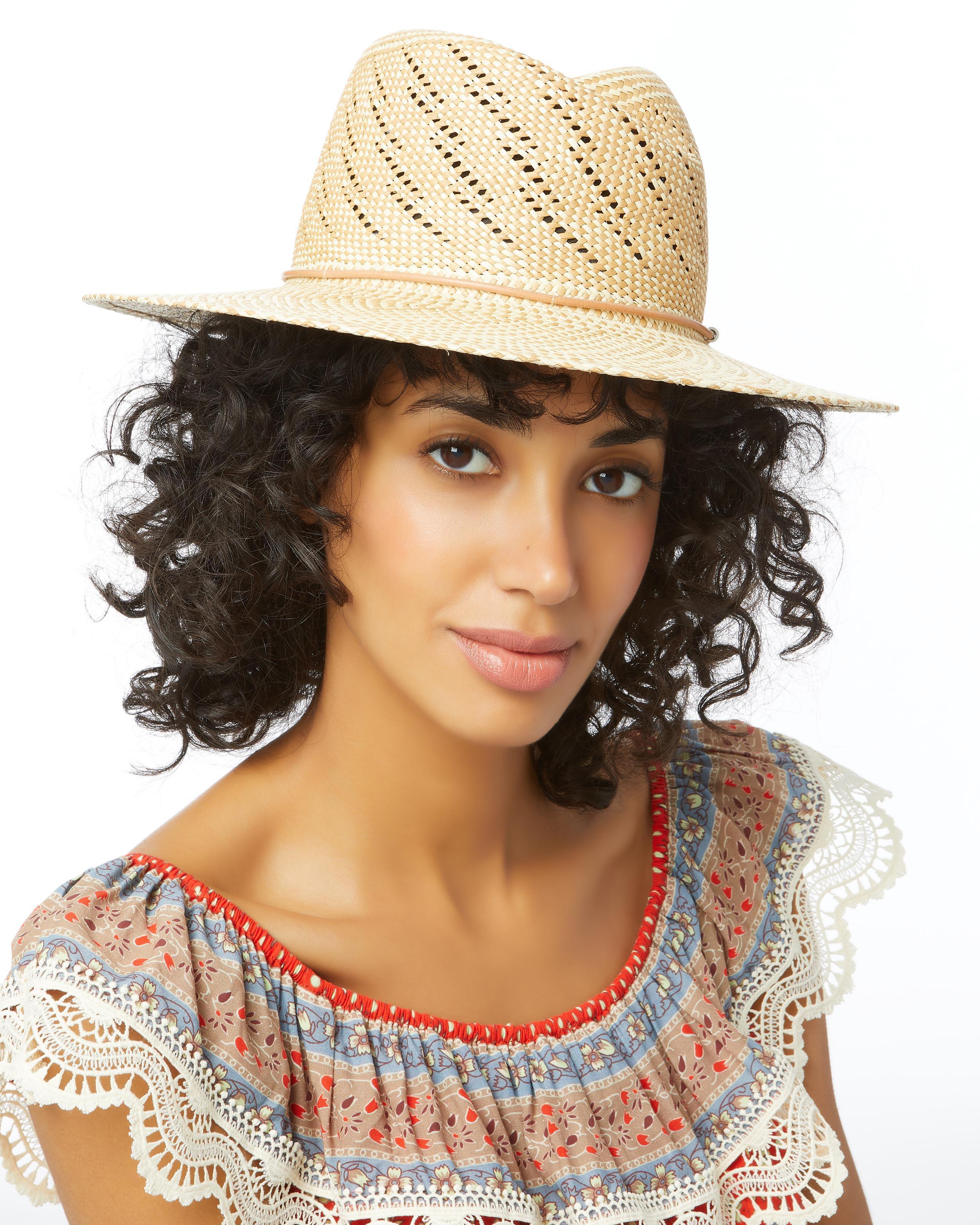Lyst - Rag   Bone Zoe Straw Hat in Natural 7bf741b082c4
