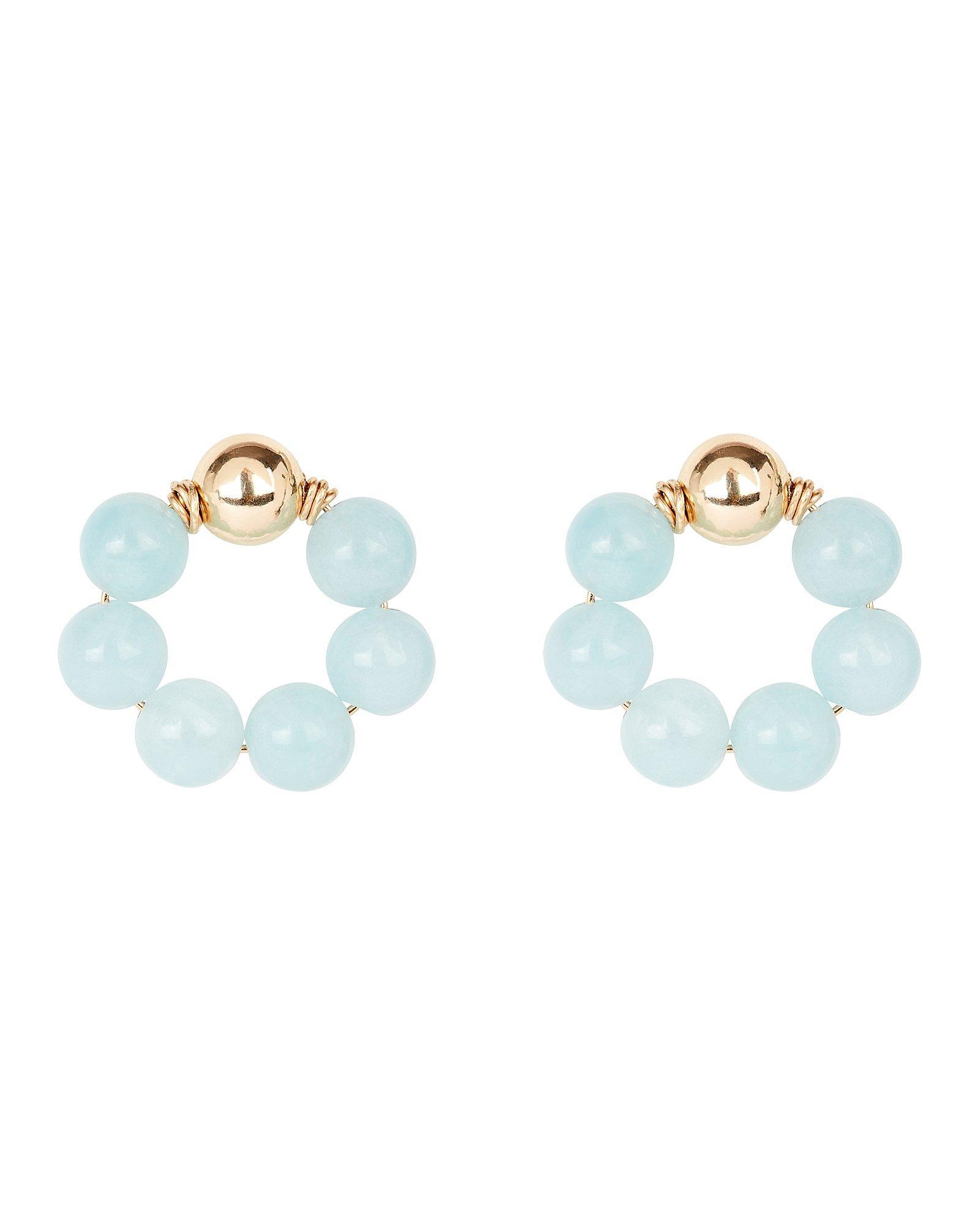 Statement avant-garde earrings Imitation of quartz and gemstones Big but lightweight epoxy resin earrings Unique handmade earrings