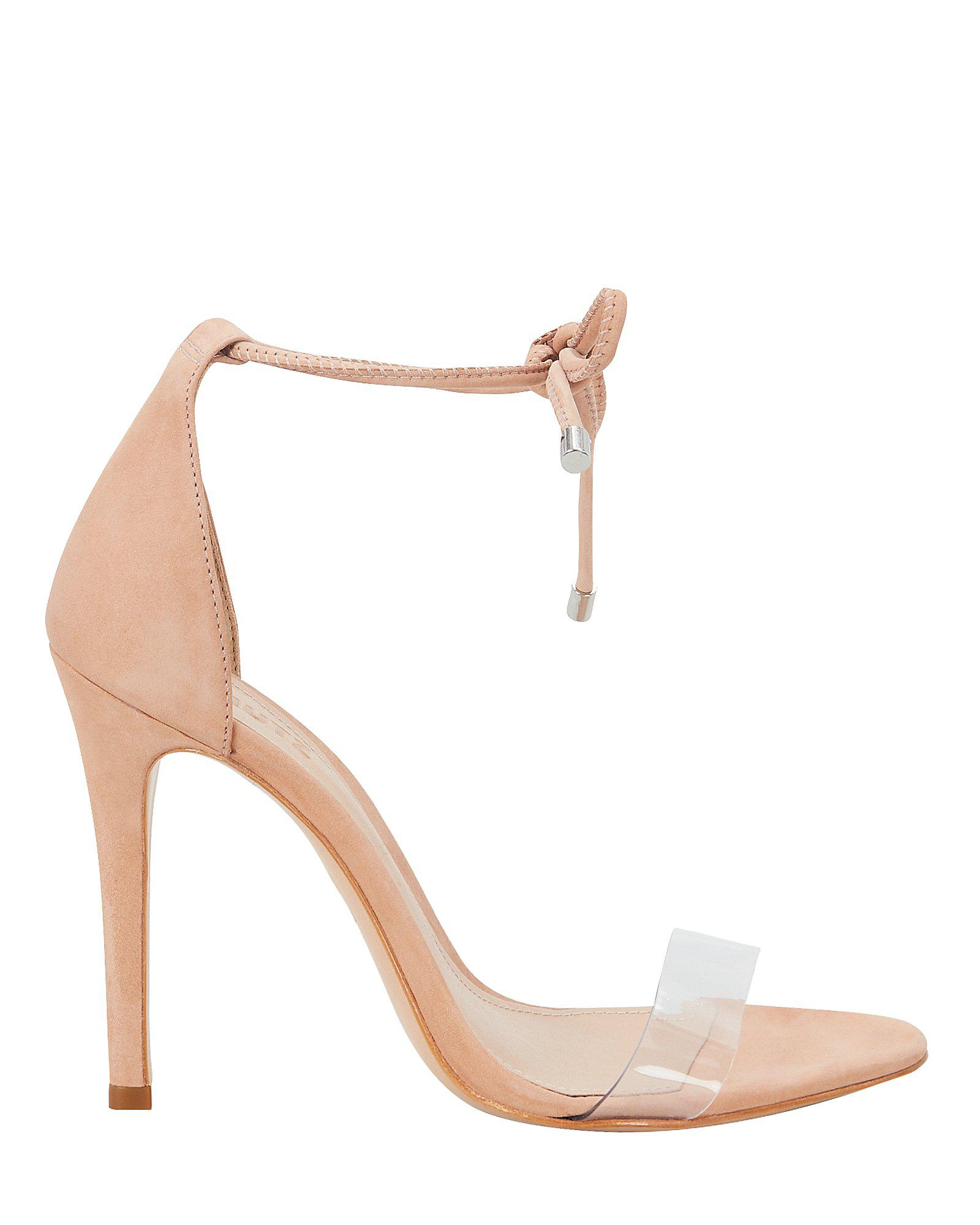 a87f6f03a82a Schutz - Natural Monique Pvc Vamp Strap Sandals - Lyst. View fullscreen