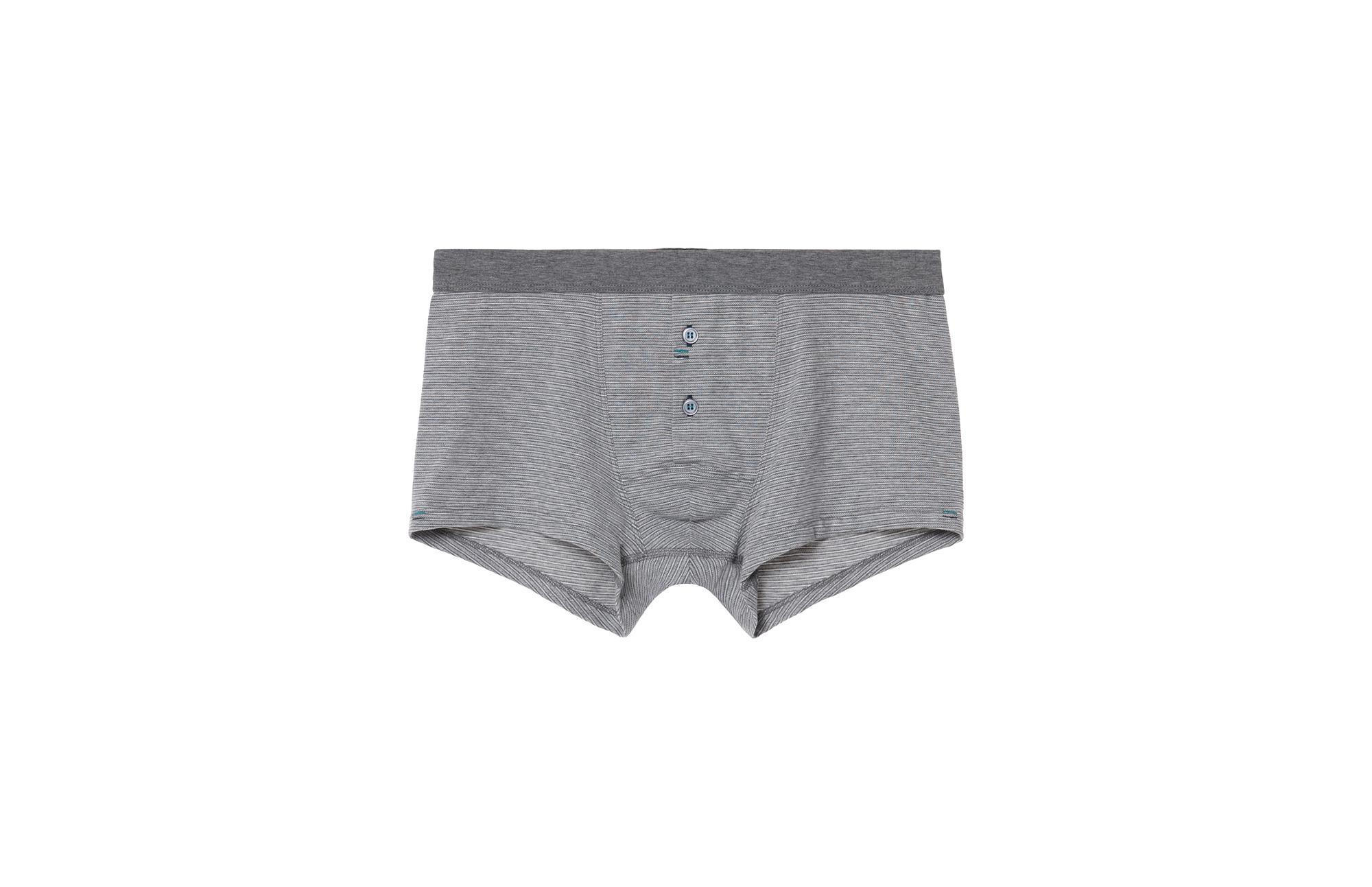 Intimissimi Button Fly Stretch-cotton Boxers for Men