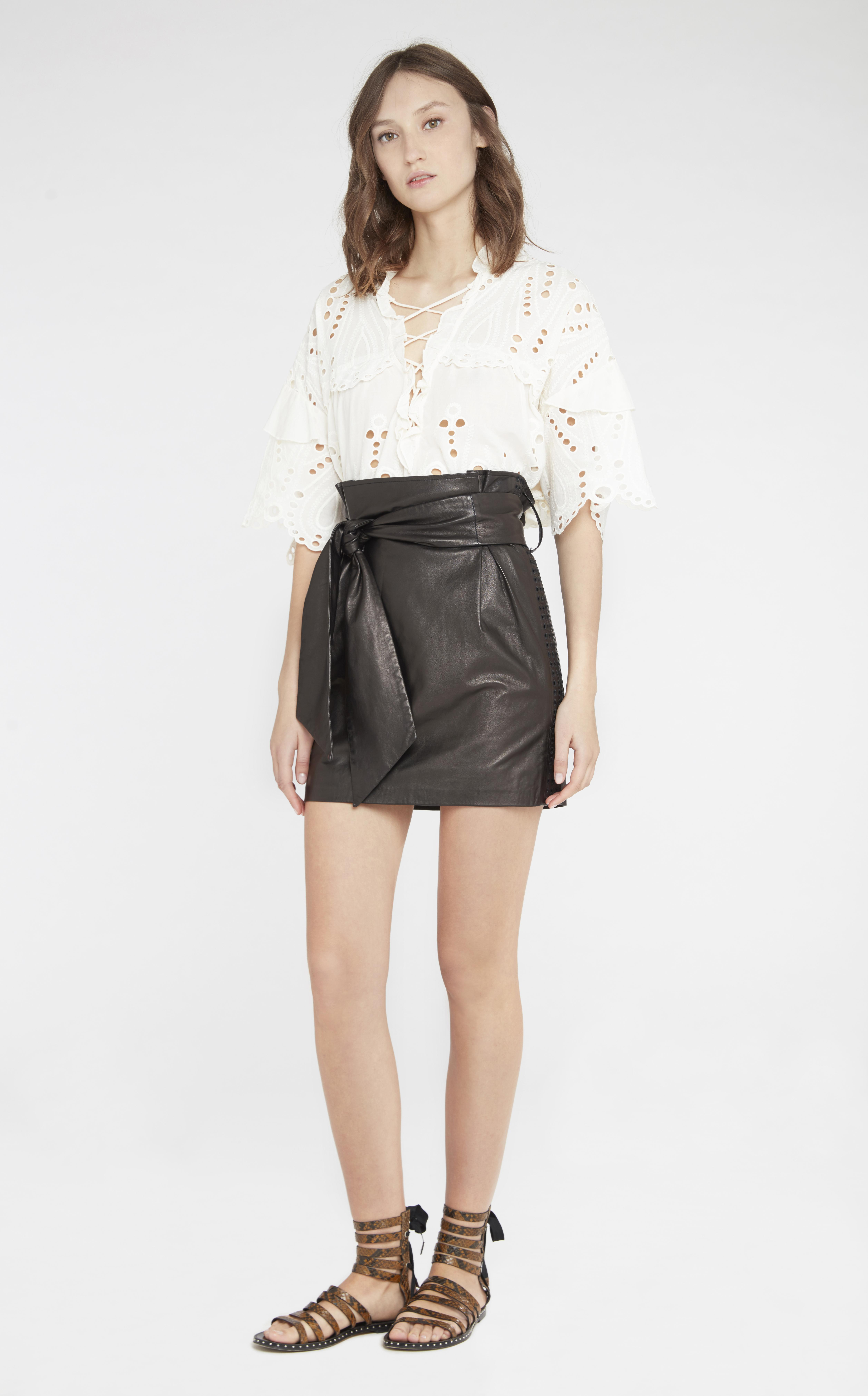 Iro Kanel Skirt In Black Lyst