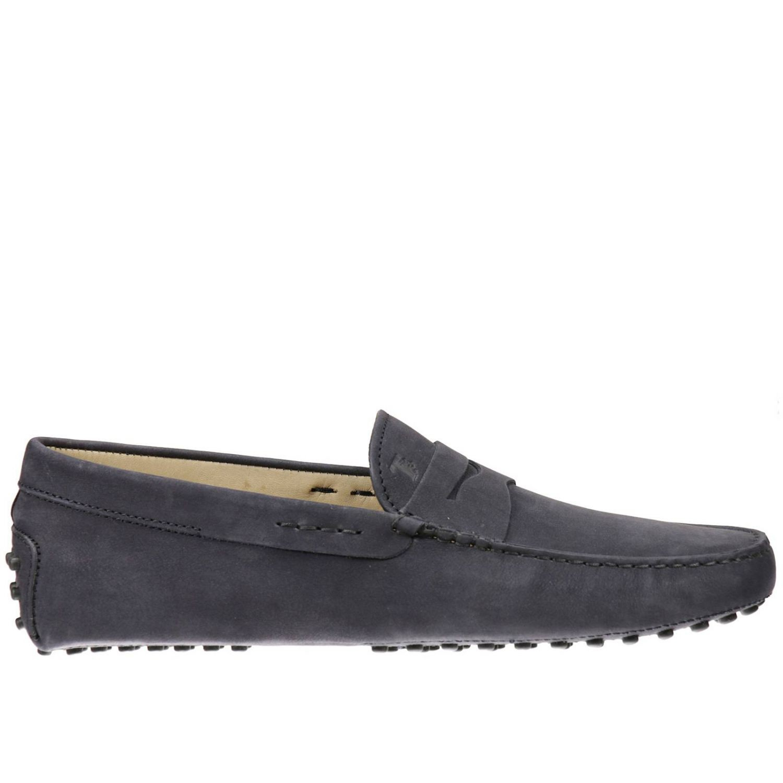 Tod S Men S Loafers In Black For Men Blue Lyst