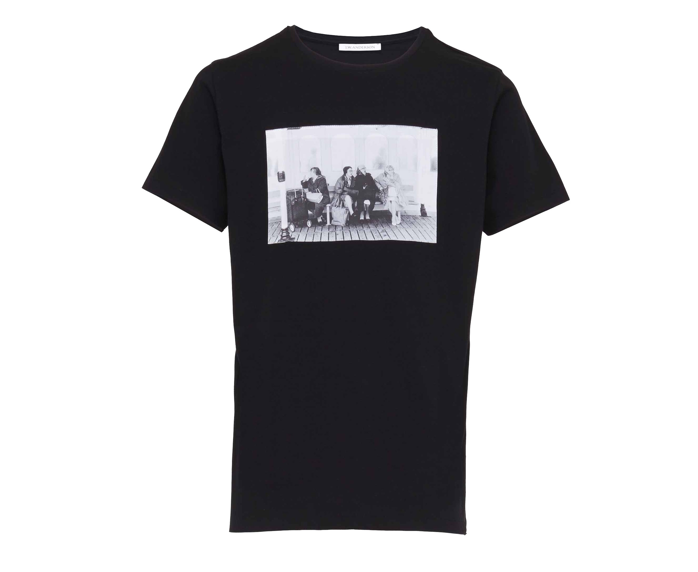 J brighton t shirt in black for men lyst for Brighton t shirt printing