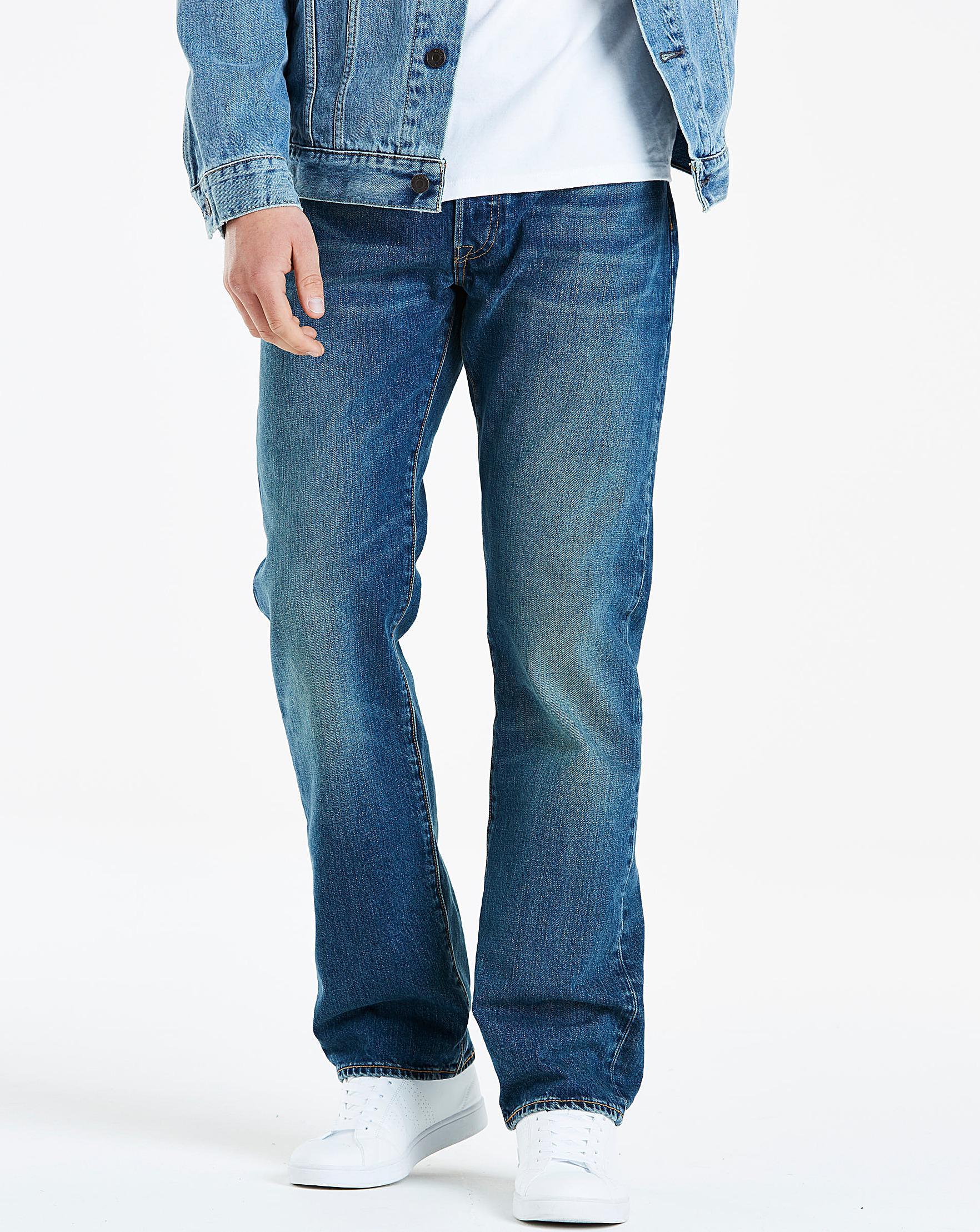 656586284b5 Levi's 501 Original Fit Hook Jean 32 In in Blue for Men - Lyst