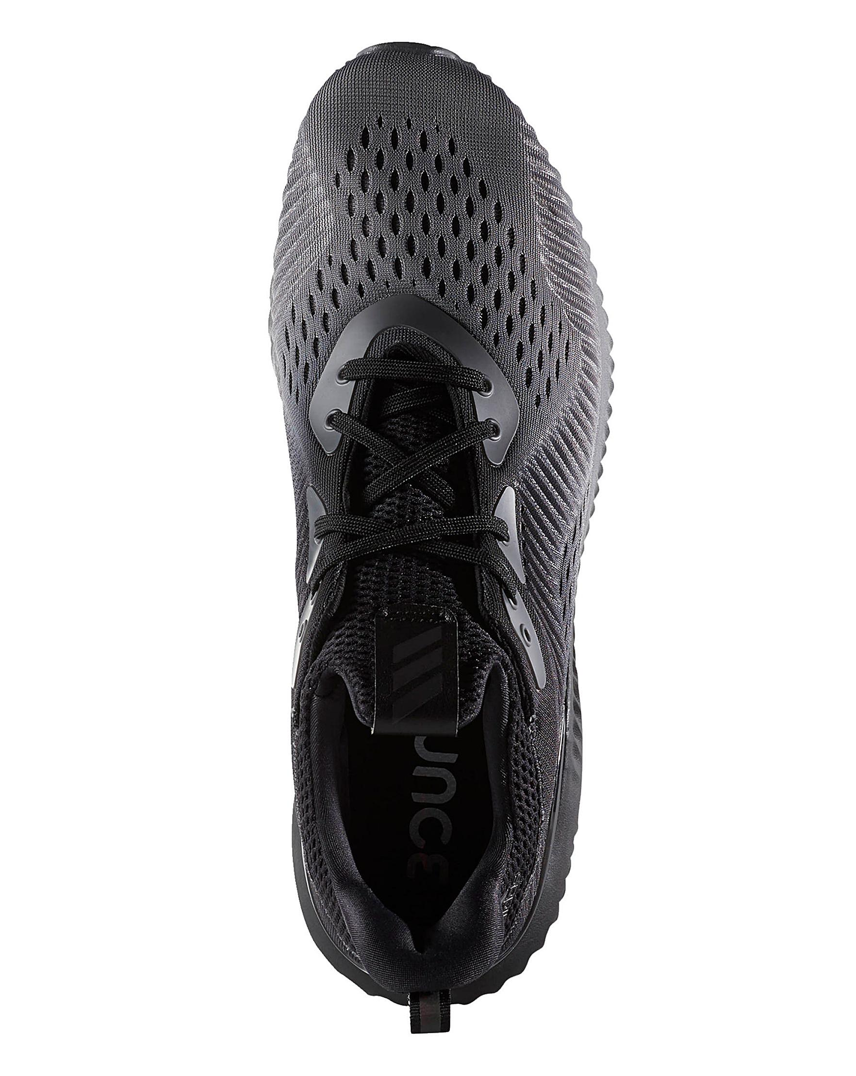 d1ac17f734f93 Adidas Alphabounce Trainers in Black for Men - Lyst