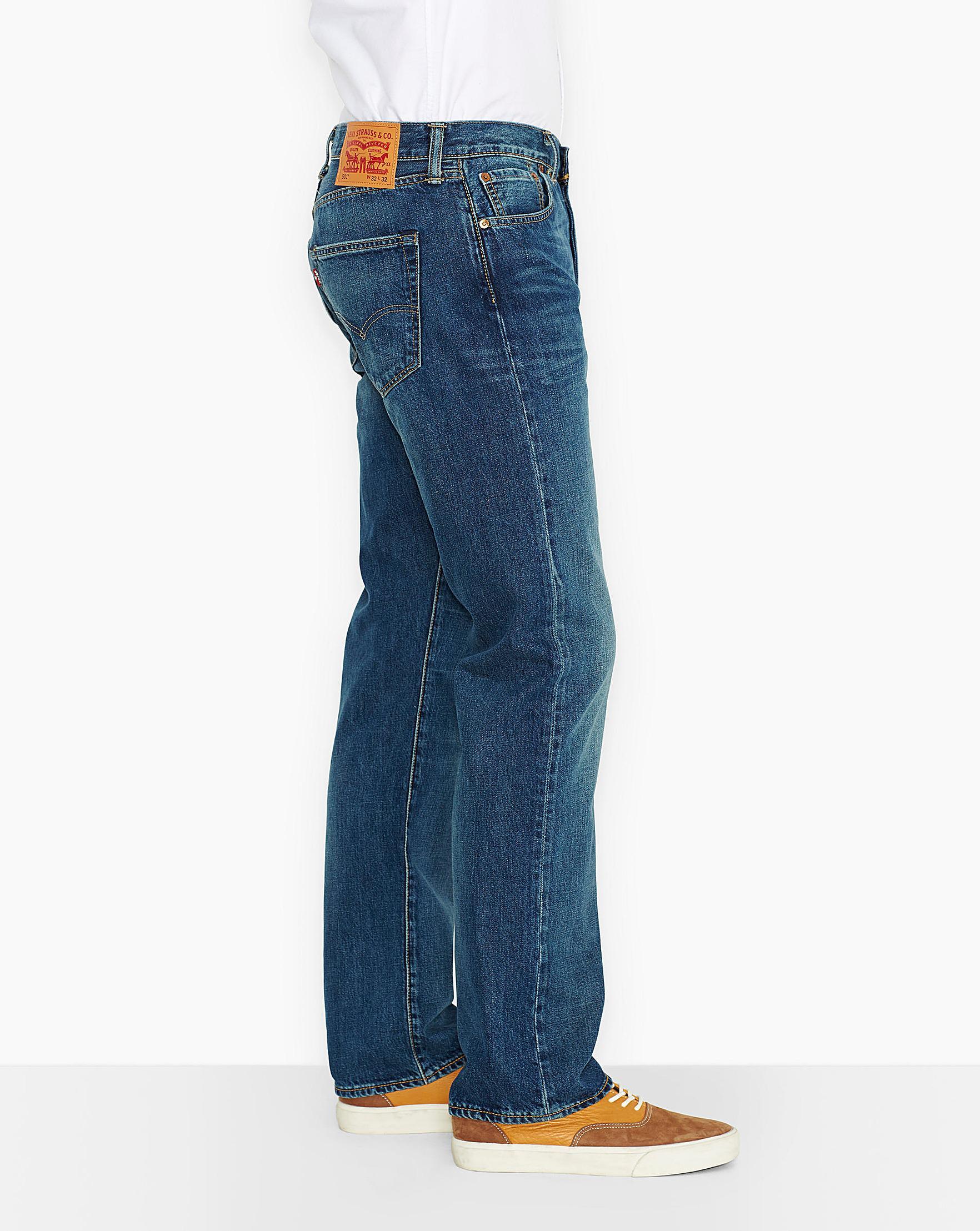 146f2063990 Levi's 501 Original Fit Hook Jean 34 In in Blue for Men - Lyst