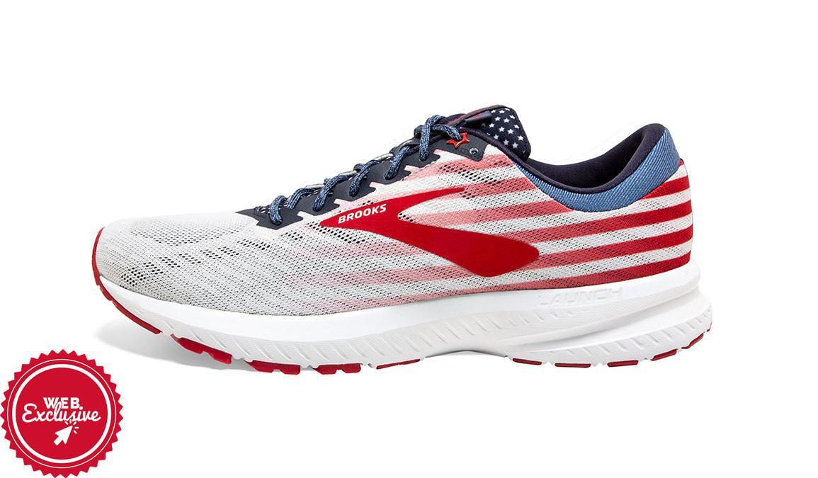 Brooks Launch 6 Old Glory Running Shoe