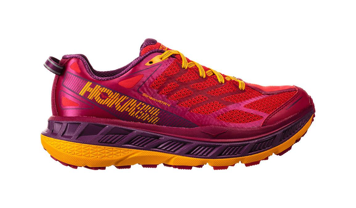 3e5bee1904e2 Lyst - Hoka One One Stinson Atr 4 Trail Running Shoe in Red for Men