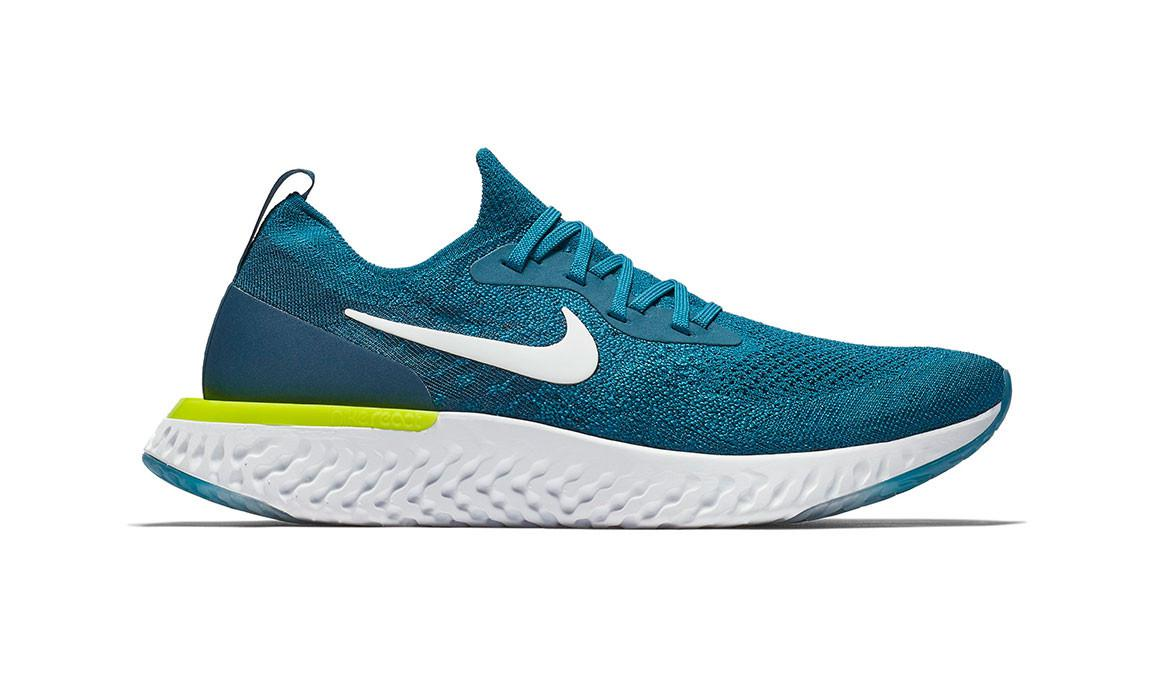 cdc3f2d5f2cb Lyst - Nike Epic React Flyknit Running Shoe in Blue for Men - Save 14%