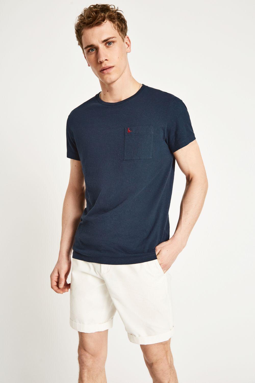 Jack Wills. Men's Blue Ayleford Nep T-shirt