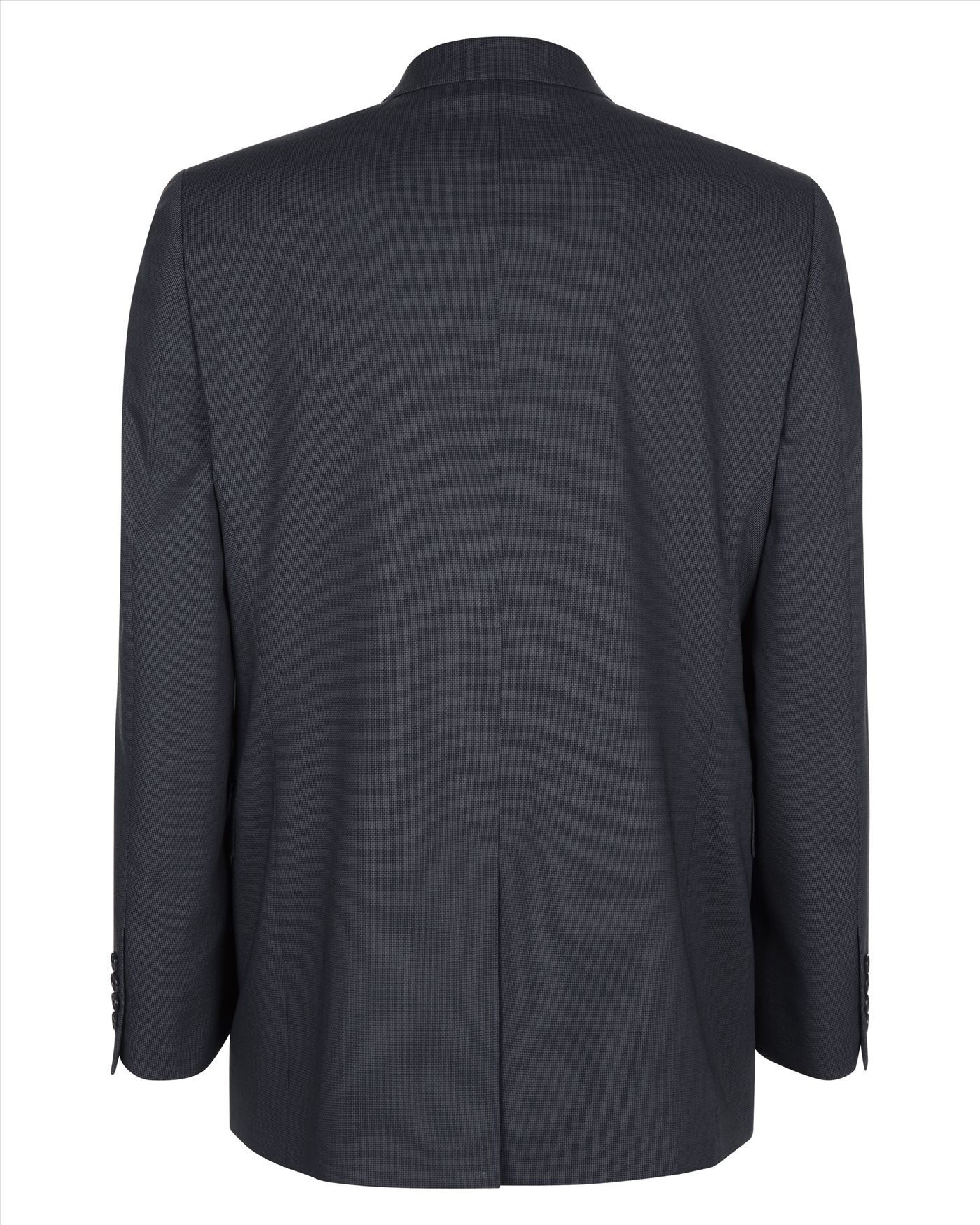 Jaeger Wool Basketweave Modern Jacket in Charcoal (Black) for Men