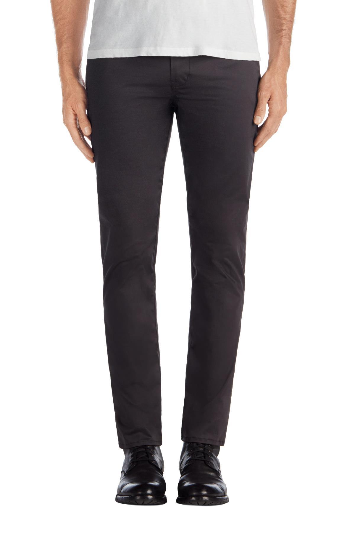 J Brand Cotton Brooks Slim Sateen Trouser In Ocean Ave for Men