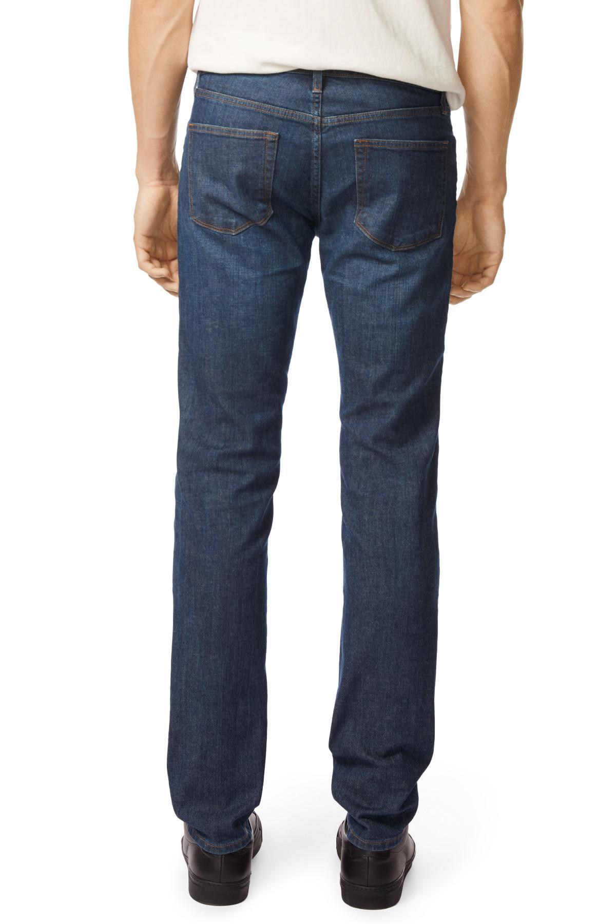 J Brand Cotton Kane Straight Fit In Venator in Blue for Men