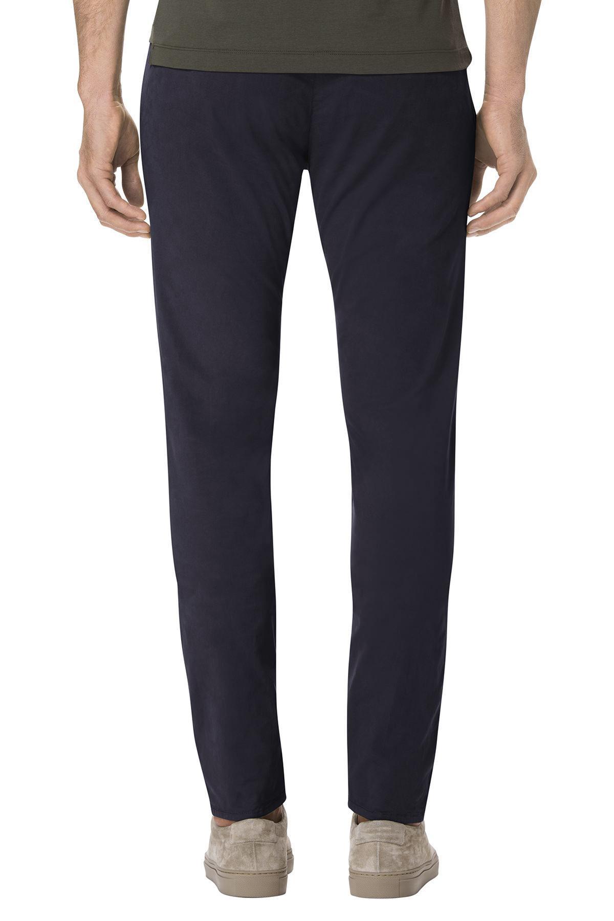 J Brand Cotton Brooks Slim Trouser In Oceanis in Blue for Men