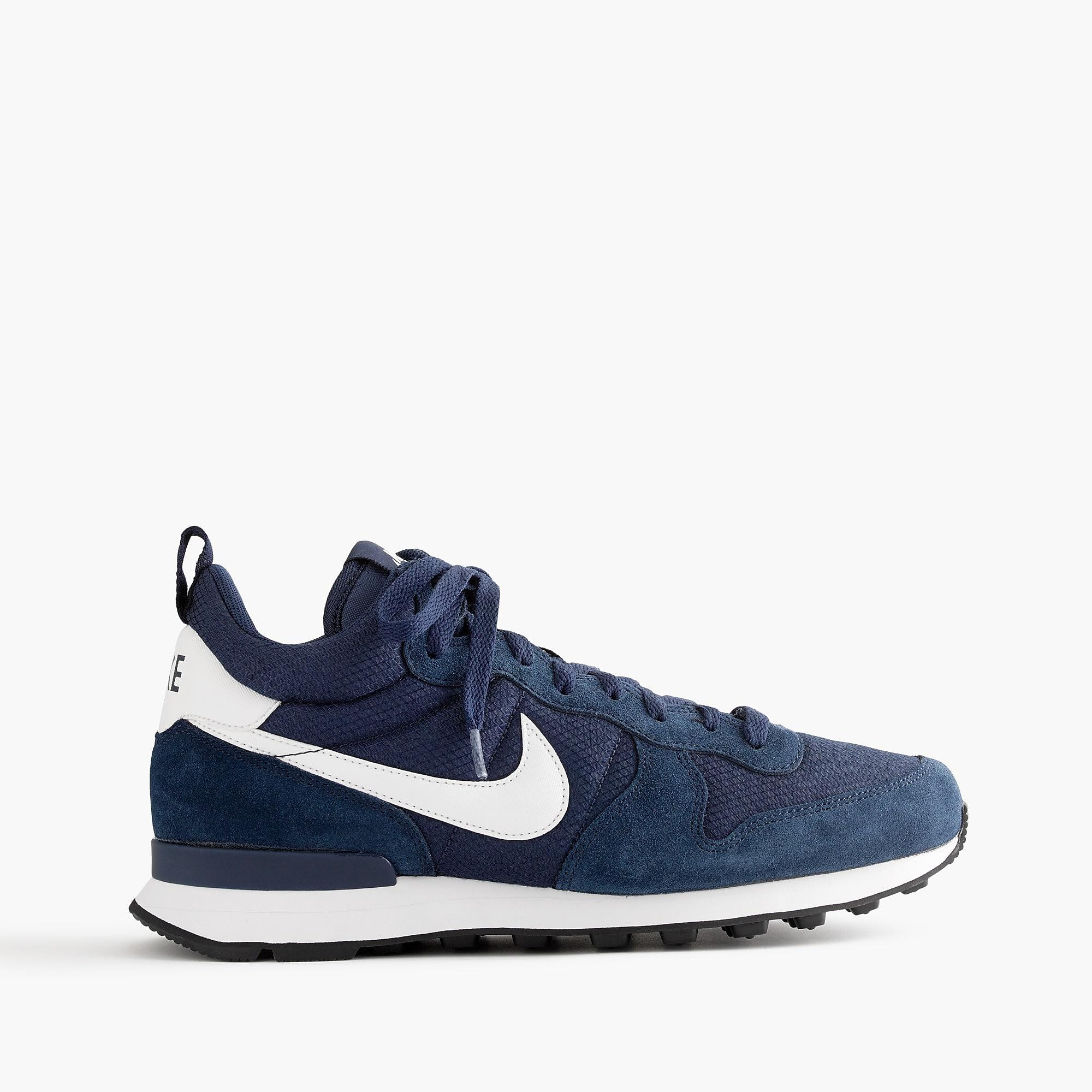 premium selection 09232 8fed9 Nike Internationalist Mid Sneakers In Navy in Blue for Men - Lyst