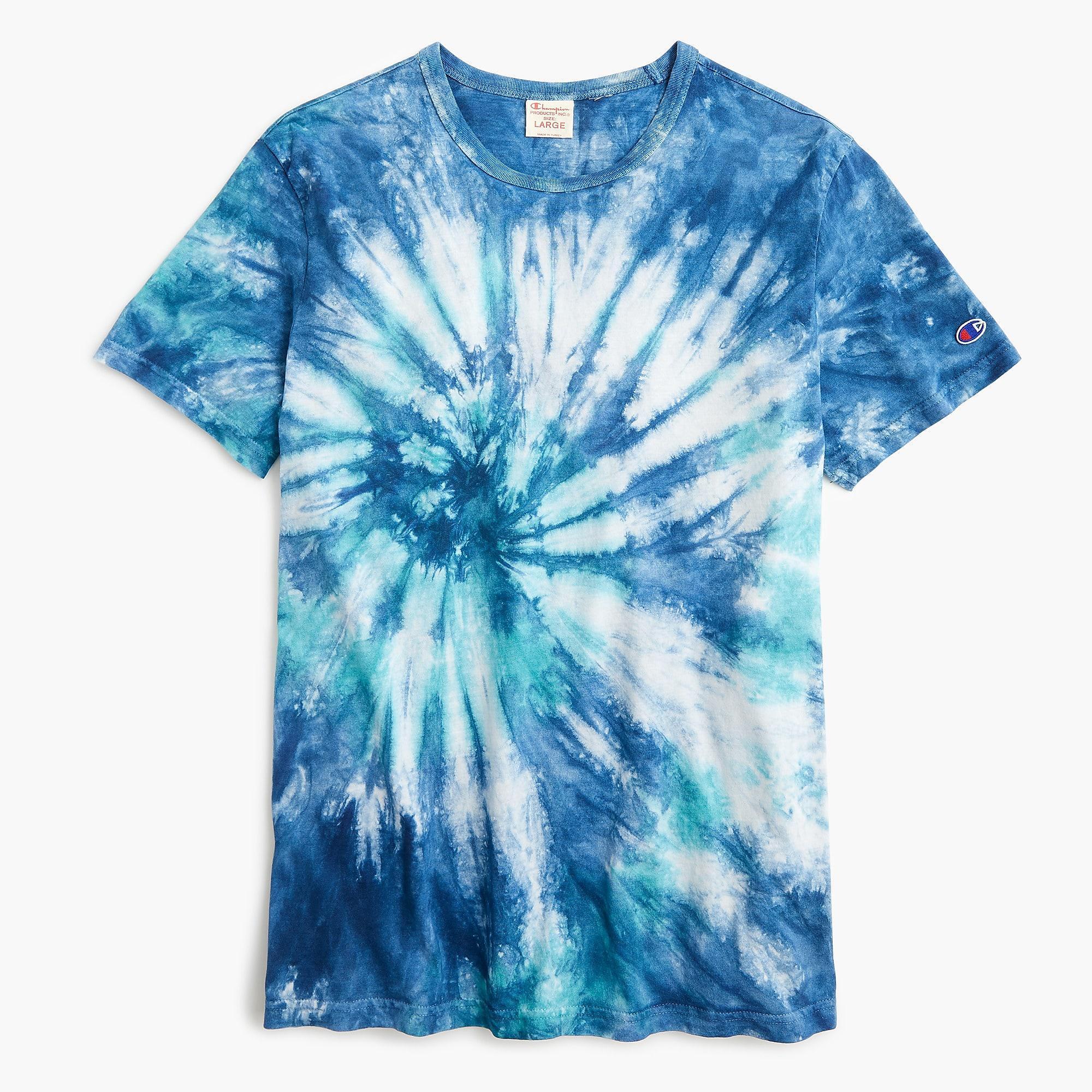 b93cb1f7026be Blue Tie Dye T Shirt | Azərbaycan Dillər Universiteti