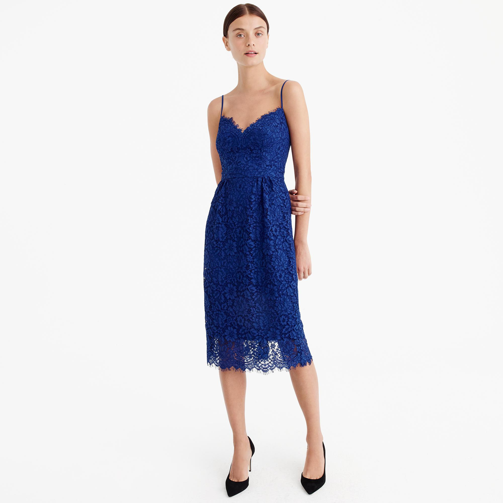 Lyst - J.Crew Perfect Party Dress in Blue