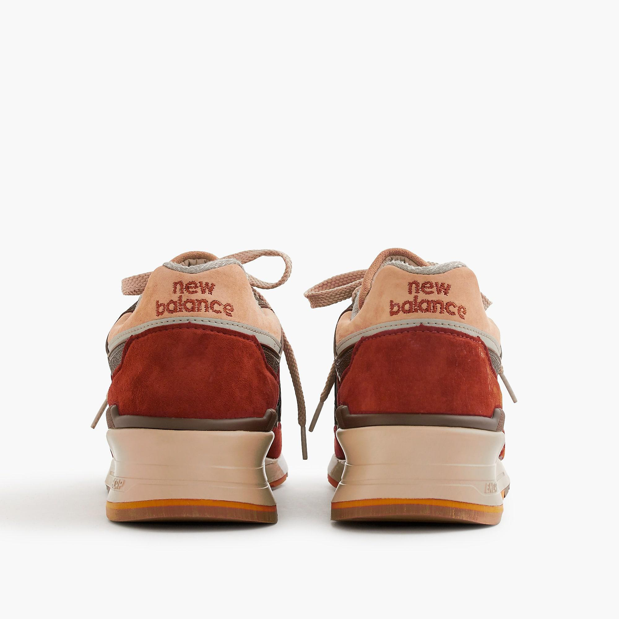 separation shoes 42c0d 0f1f8 Men's Red 997 Butterscotch Sneakers
