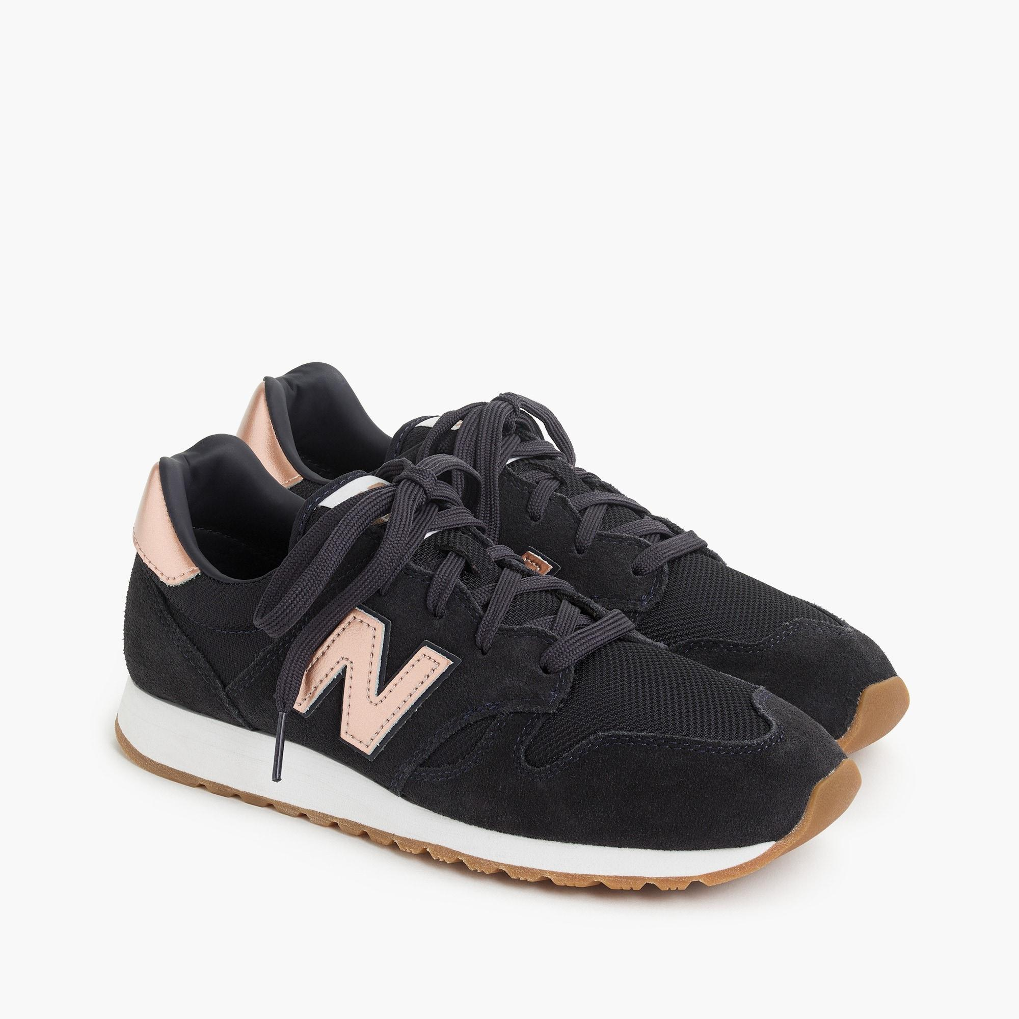 New Balance Suede ® For J.crew 520 Sneakers in Navy Rose Gold ...