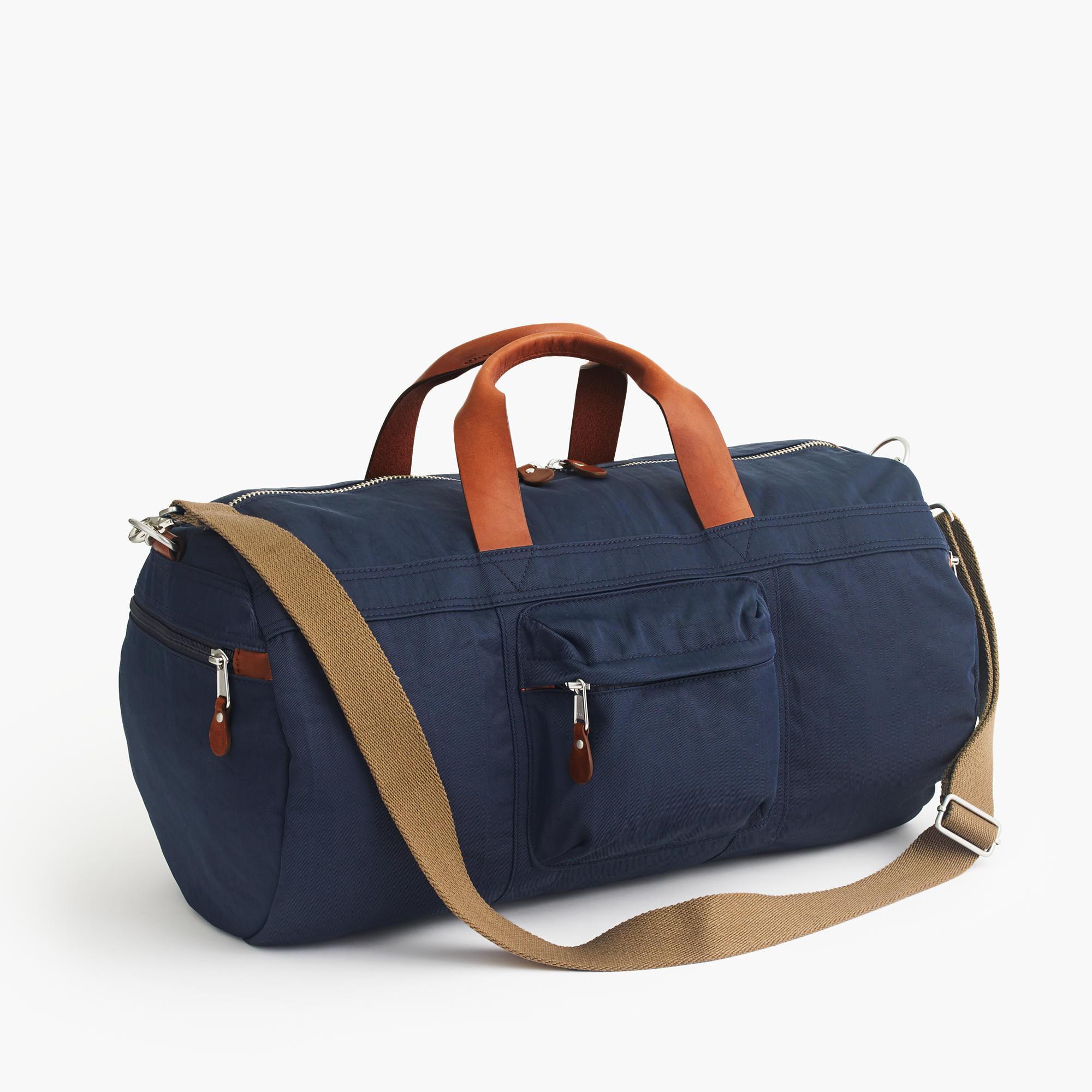 J.crew Harwick Duffel Bag in Blue for Men