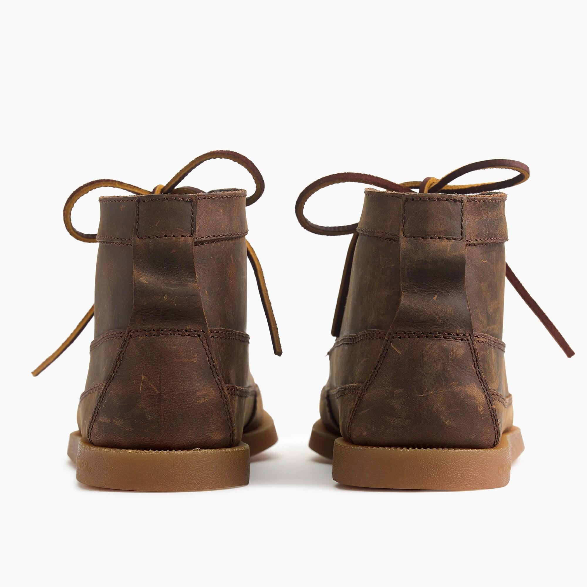Leather ® For J.crew Chukka Boots