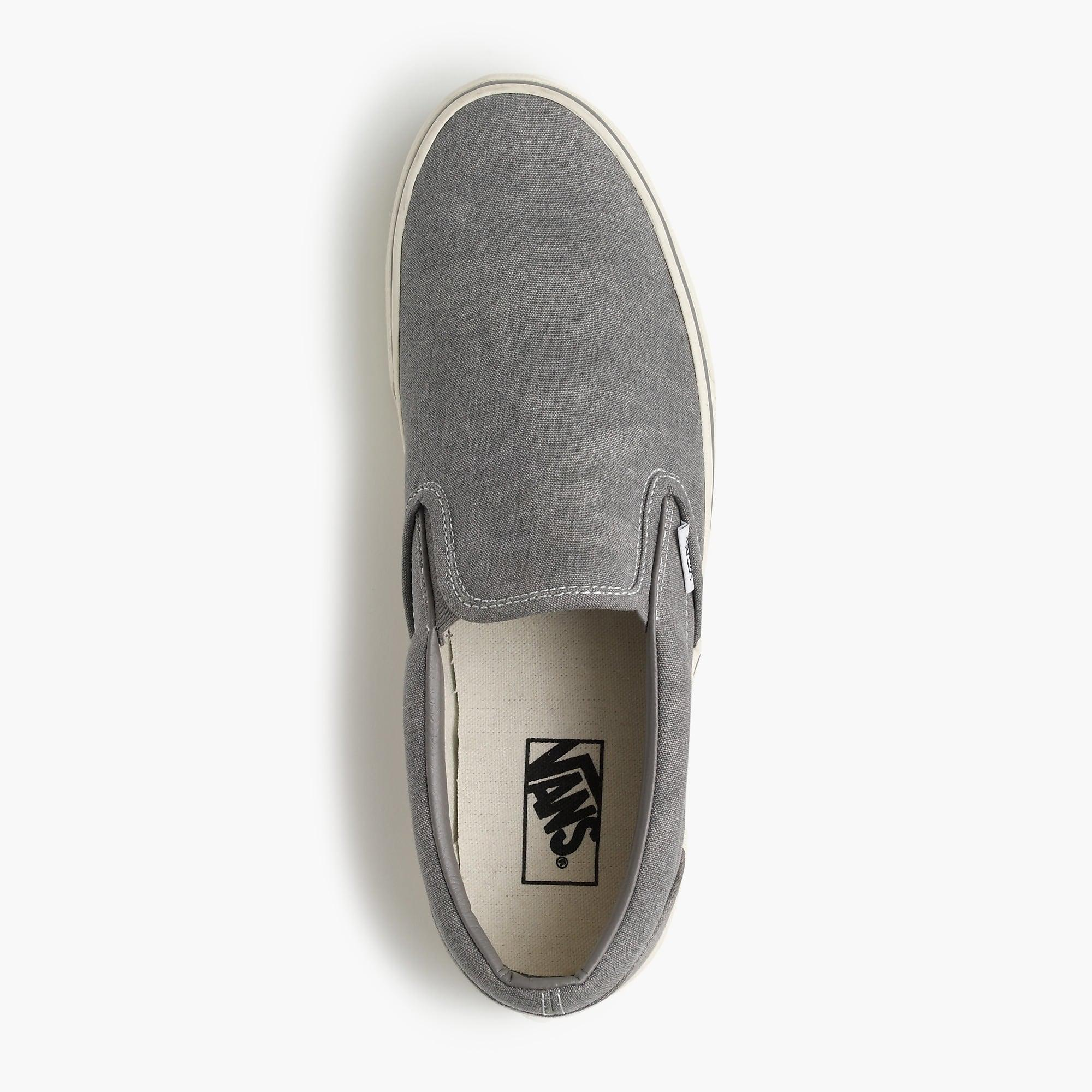 9a3b1faf808 Vans. Men s Metallic Washed Canvas Classic Slip-on Sneakers.  60 From J.Crew