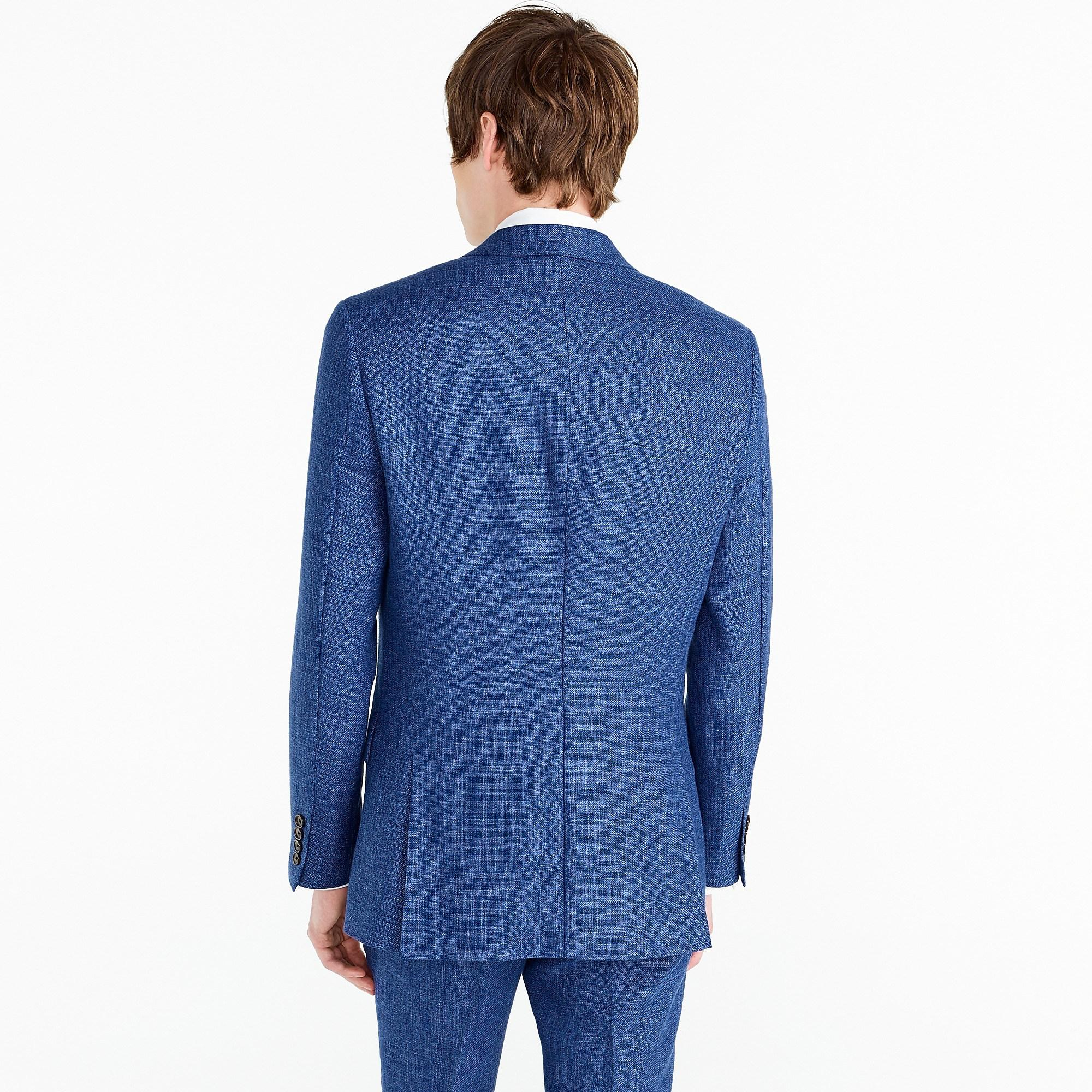 J.Crew Ludlow Slim-fit Suit Jacket In Blue Italian Linen for Men