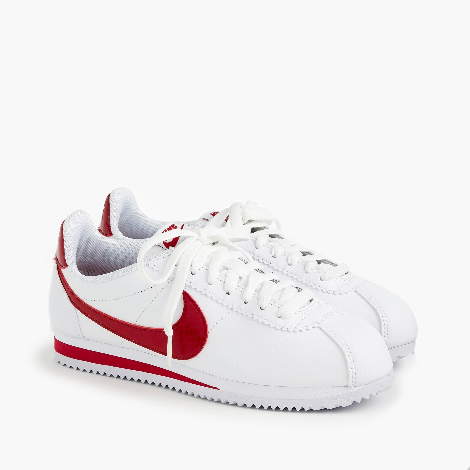 Nike ® Cortez Sneakers In Leather in