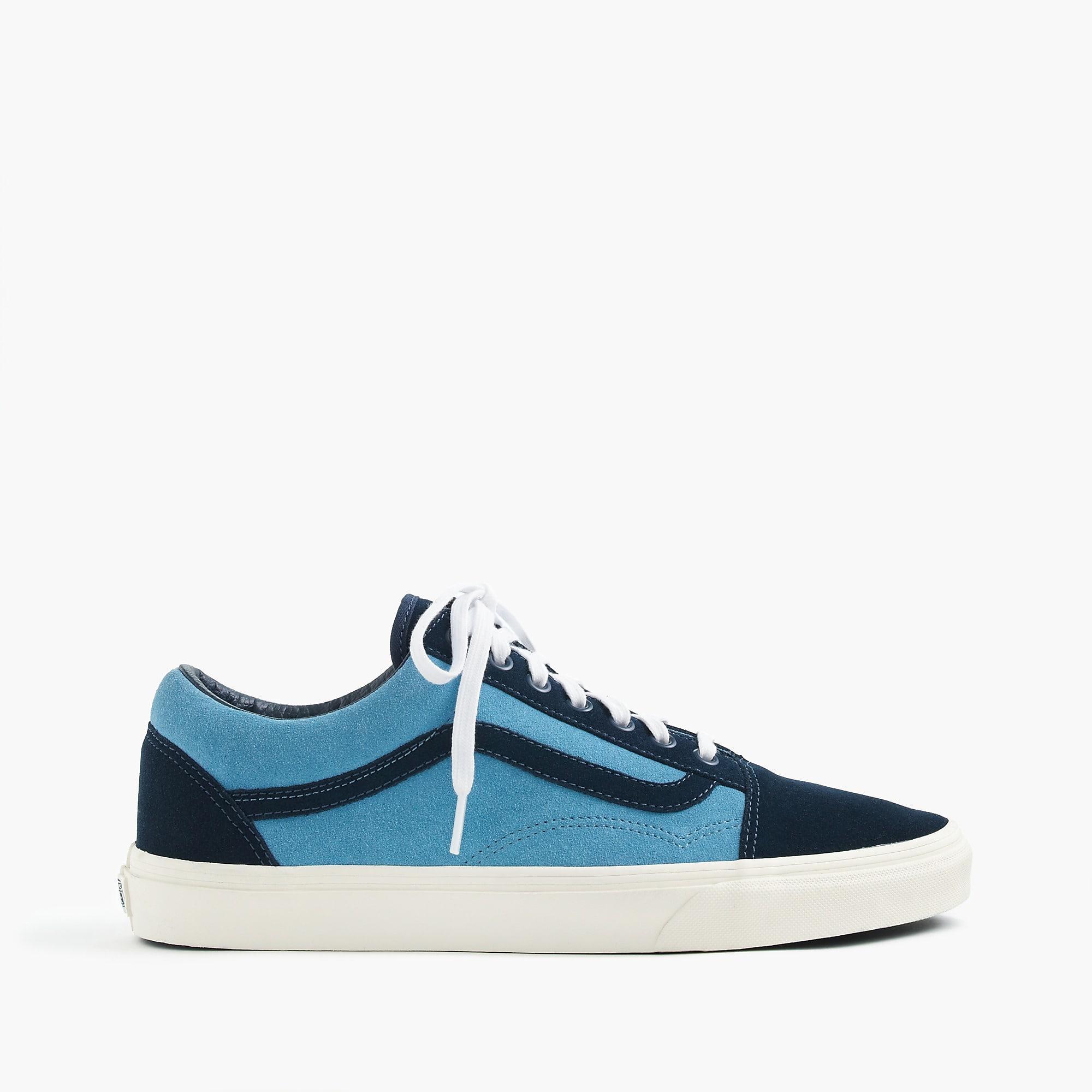 Vans Old Skool Sneakers In Suede in Blue for Men